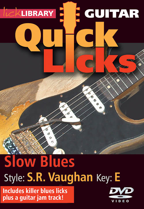 Stevie Ray Vaughan: Slow Blues - Quick Licks: Guitar Solo: DVD