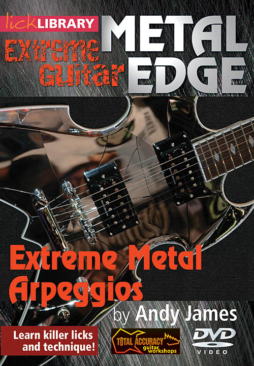 Andy James: Extreme Metal Arpeggios: Guitar Solo: DVD