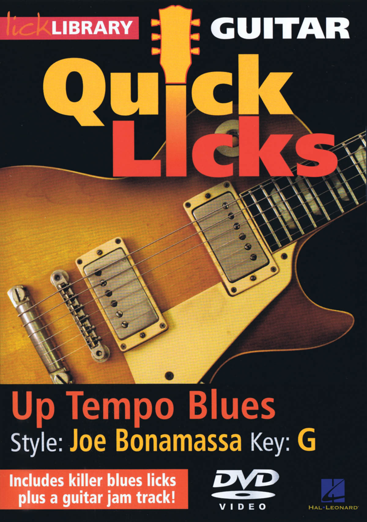 Joe Bonamassa: Up Tempo Blues - Quick Licks: Guitar Solo: Instrumental Tutor