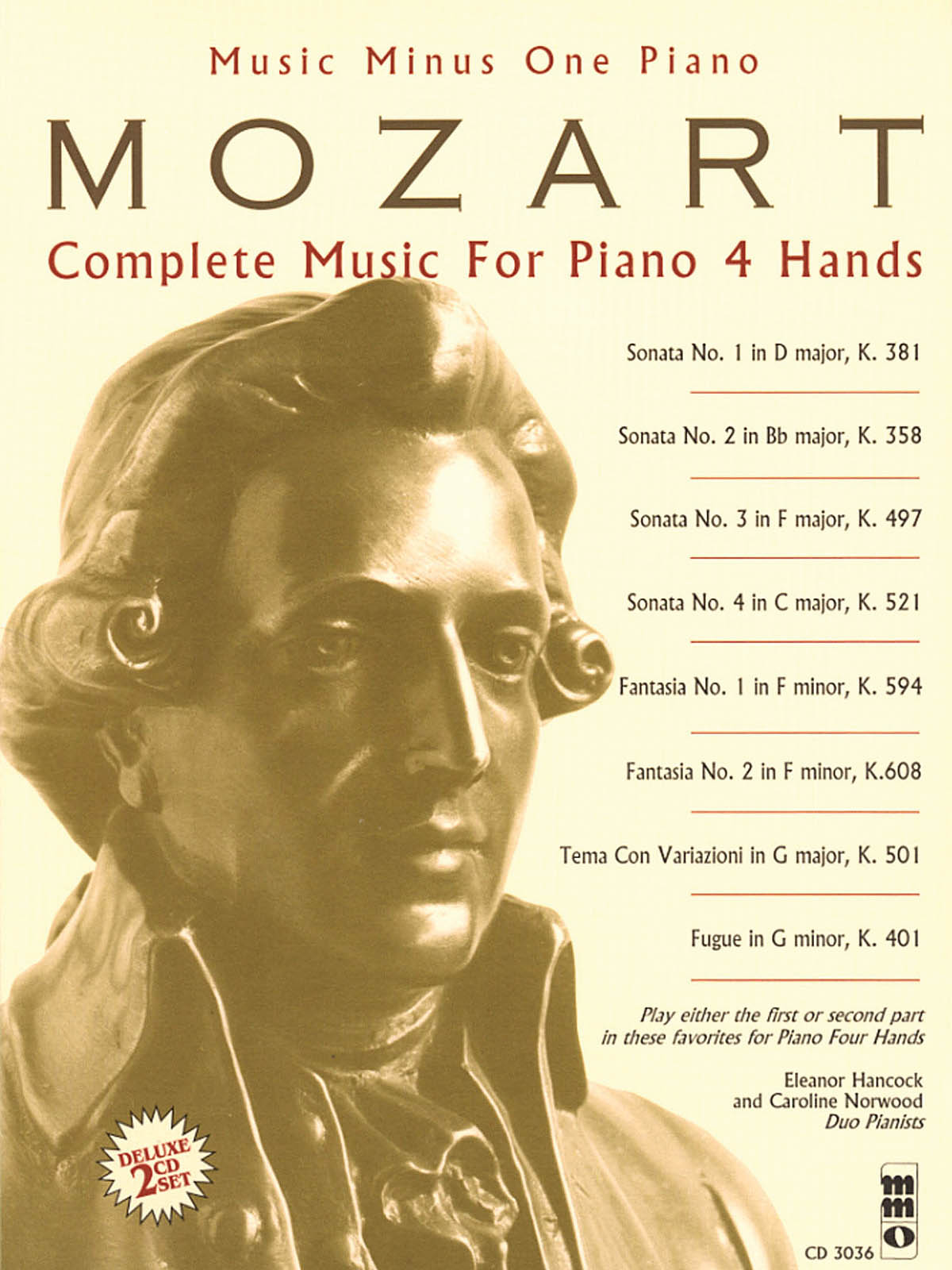 Wolfgang Amadeus Mozart: Complete Music for Piano  4 Hands: Piano: Instrumental