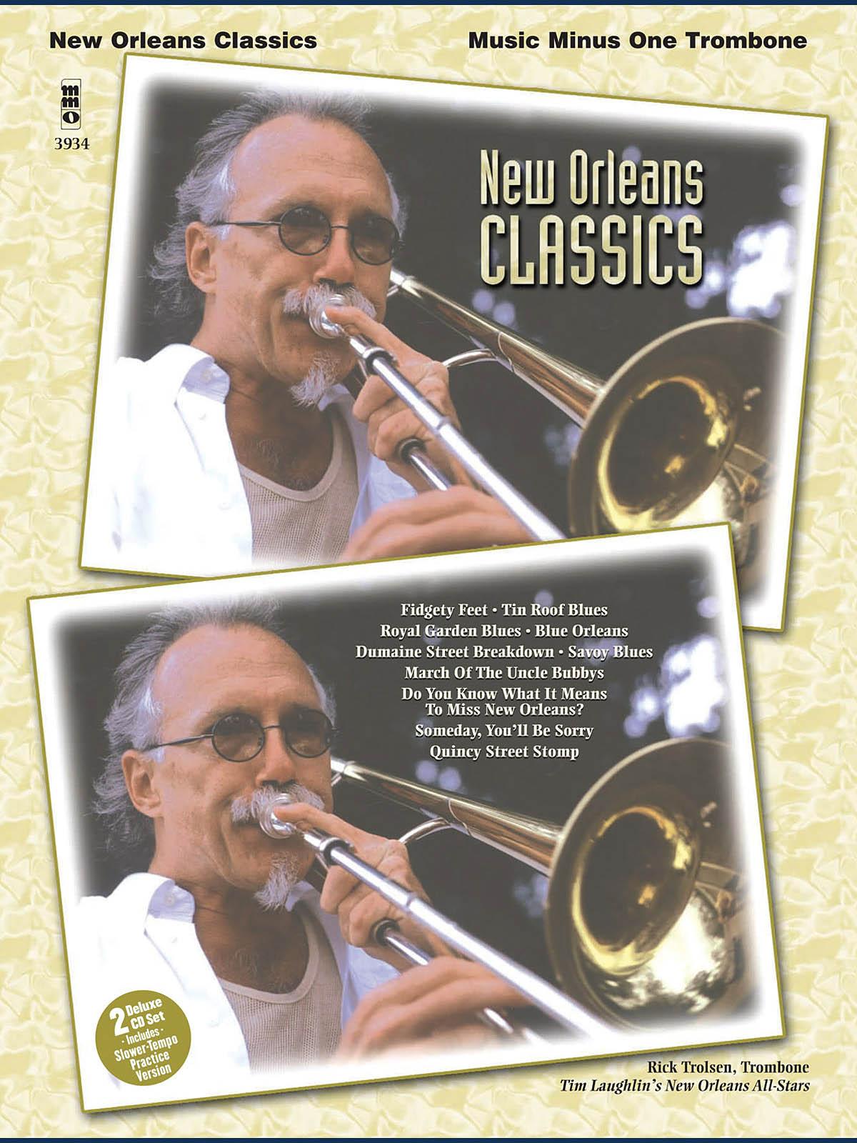 New Orleans Classics: Trombone Solo: Instrumental Album