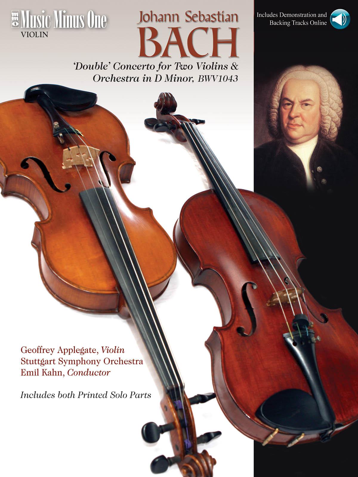 Johann Sebastian Bach: J.S. Bach - Double Concerto in D Minor  BWV1043: Violin