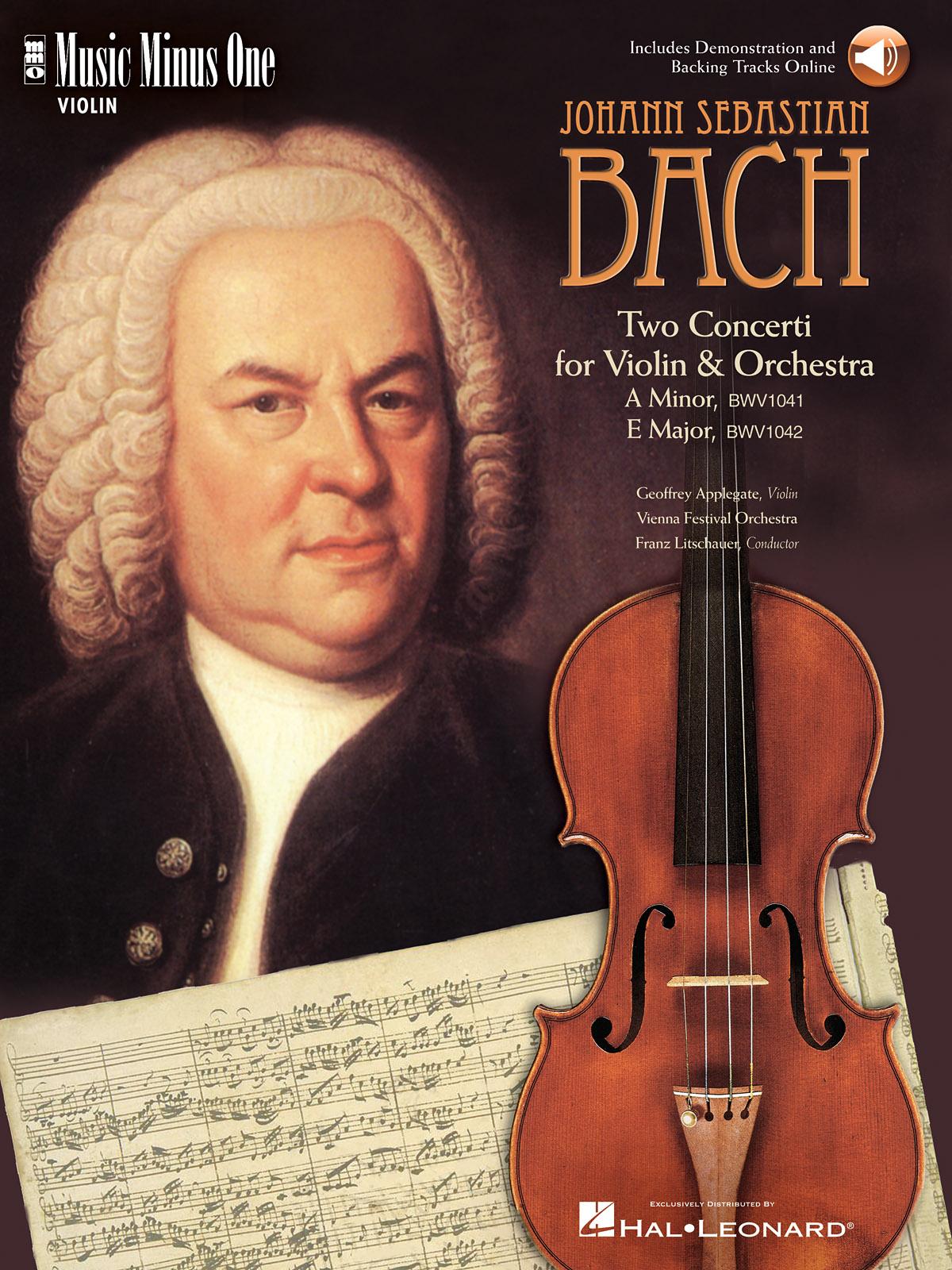 Johann Sebastian Bach: Violin Concerto No. 1 in A Minor  BWV1041: Violin Solo