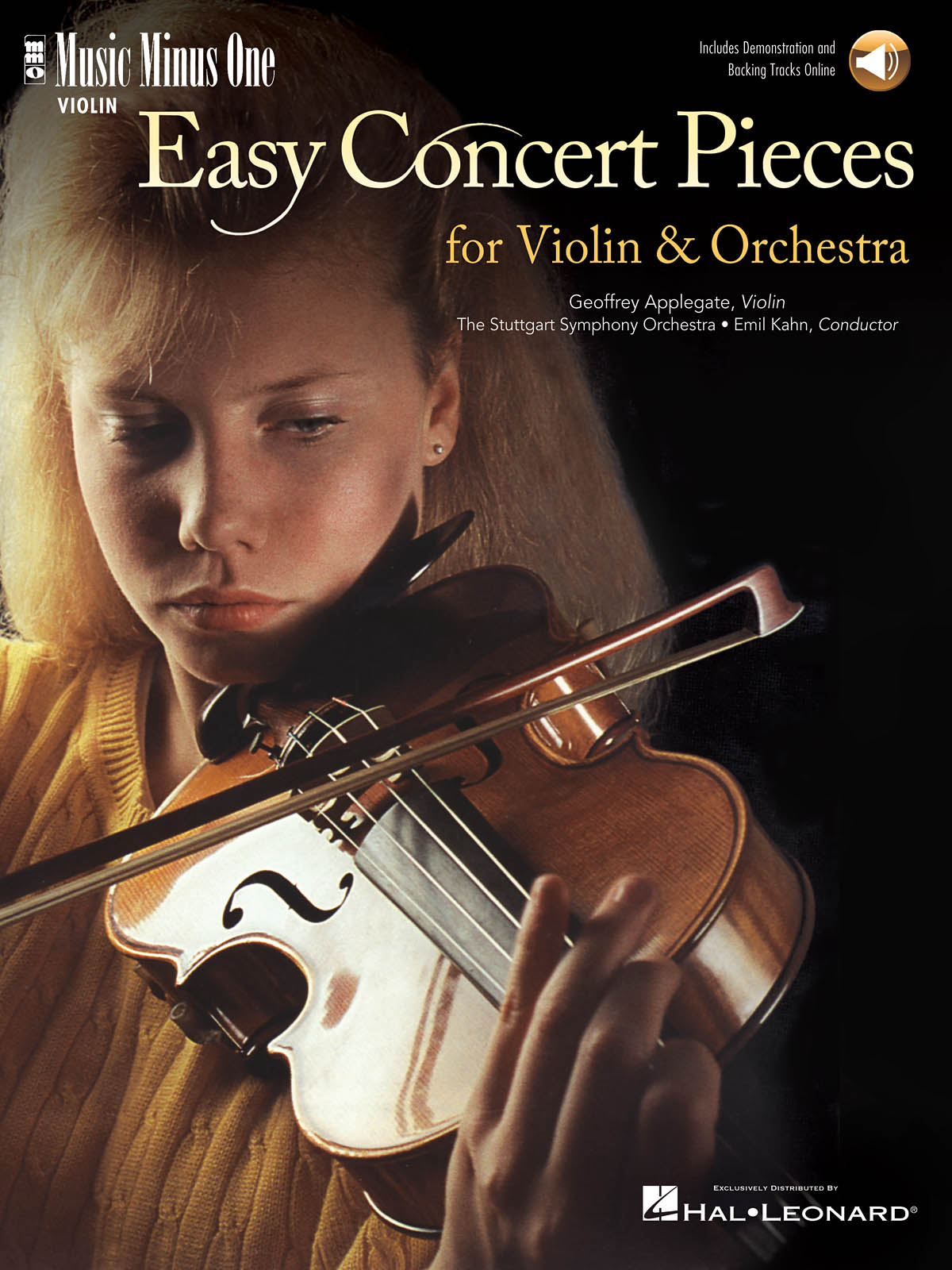 Easy Concert Pieces for Violin & Orchestra: Orchestra and Solo: Instrumental