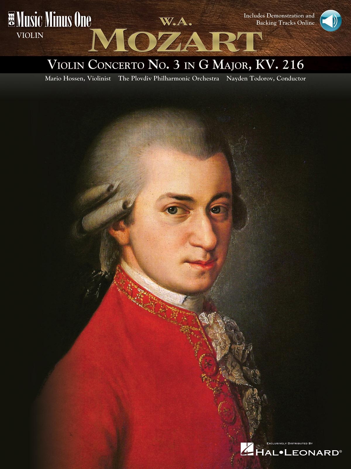Wolfgang Amadeus Mozart: Violin Concerto No. 3 in G Major  KV216: Violin Solo