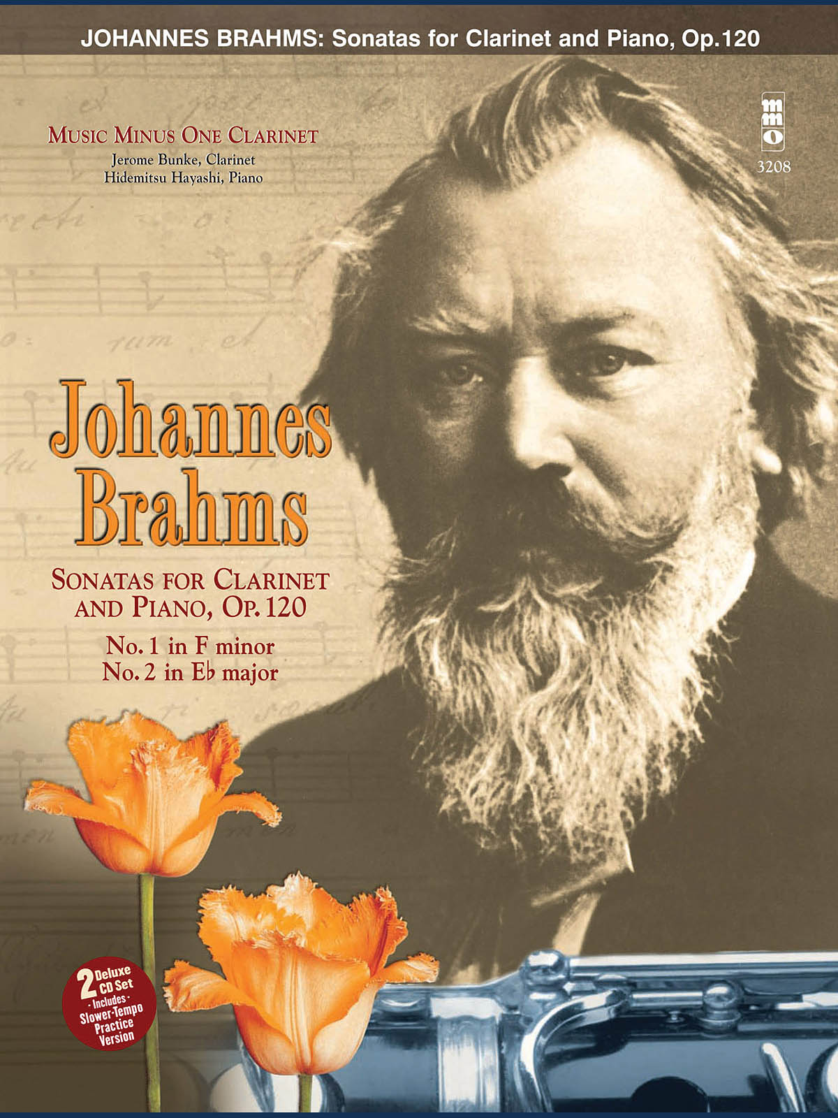 Johannes Brahms: Sonatas in F Minor and E-flat  Op. 120: Clarinet Solo