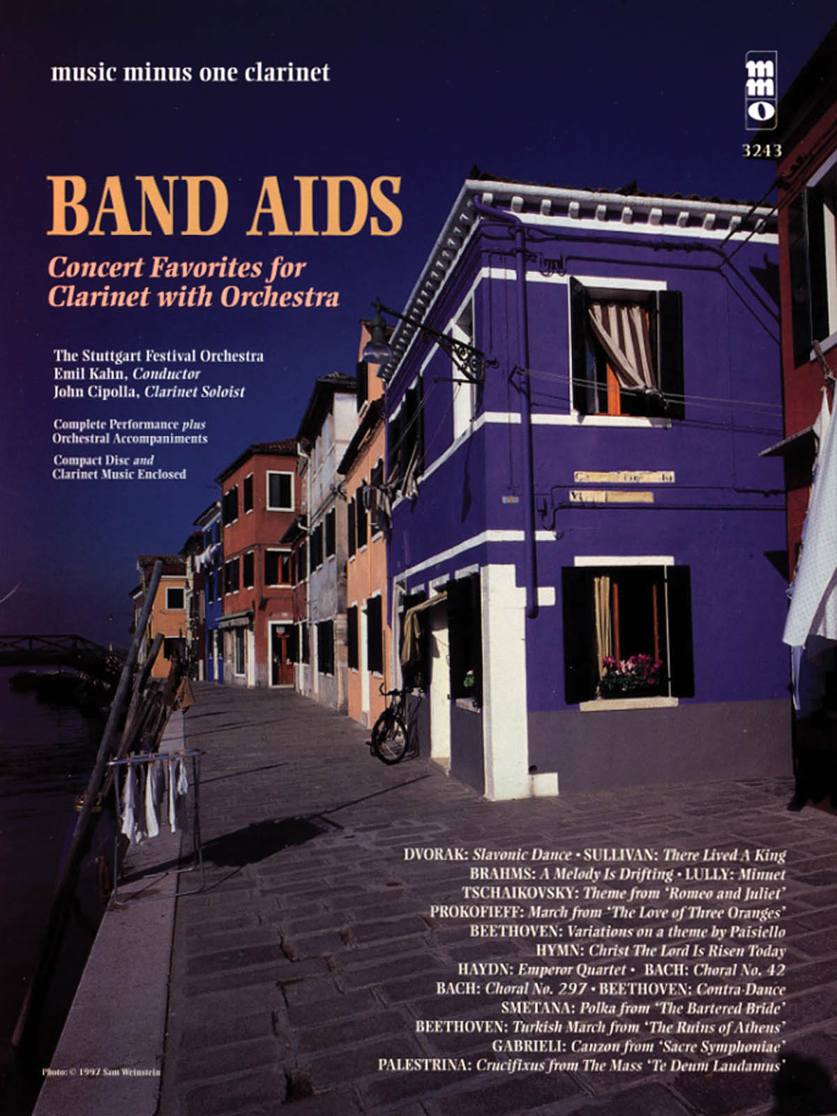 Band Aids - Concert Band Favorites with Orchestra: Clarinet Solo: Instrumental