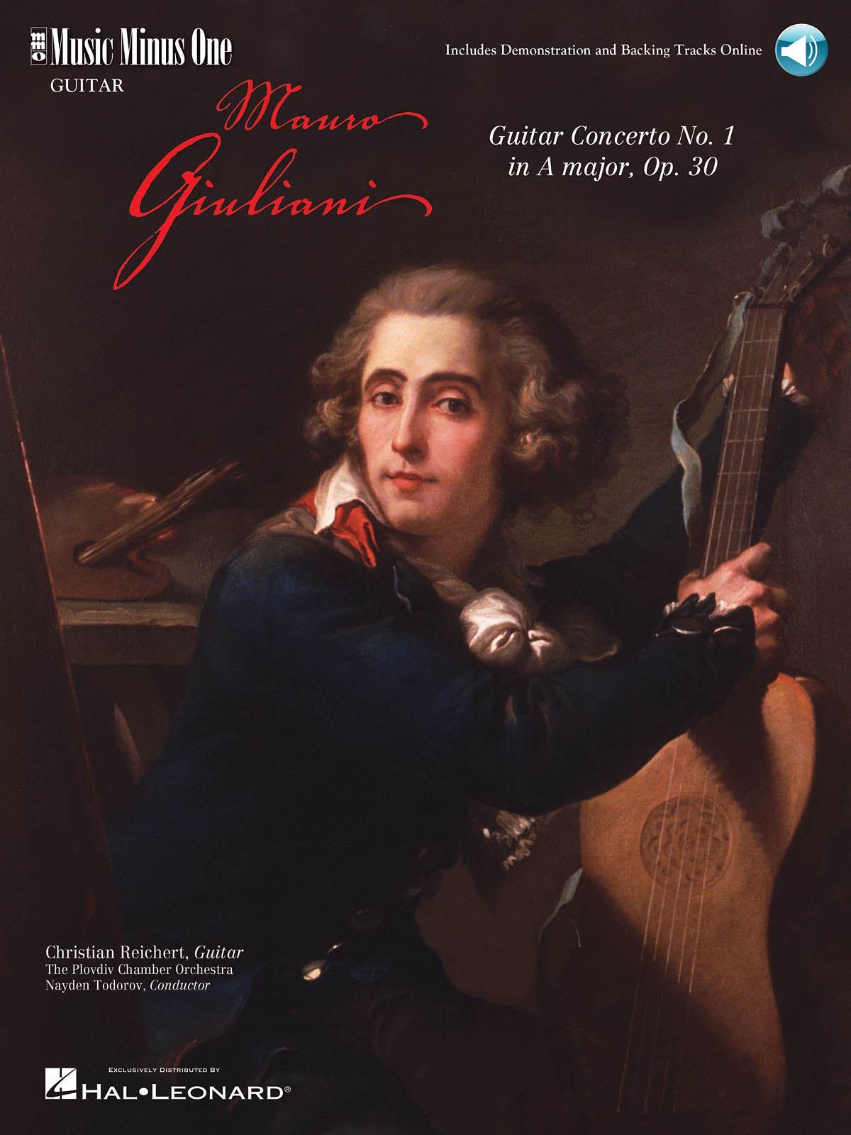 Mauro Giuliani: Giuliani - Guitar Concerto No. 1 in A Major: Guitar Solo