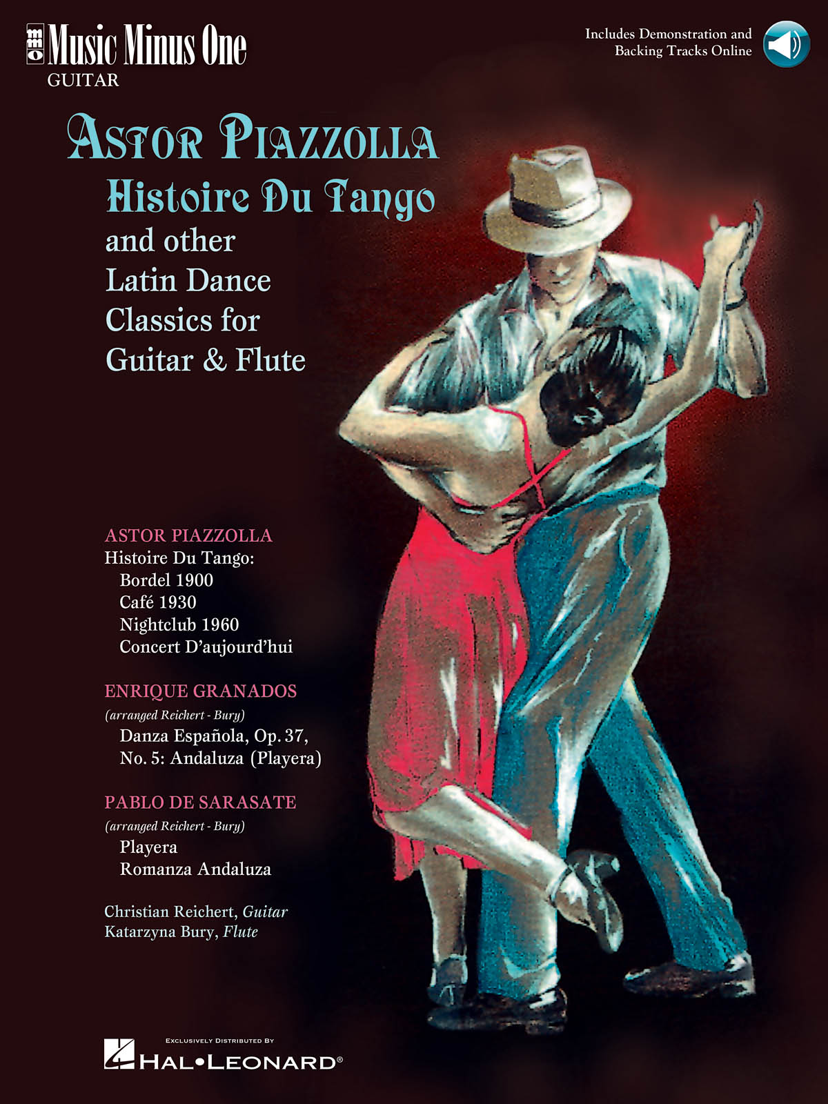 Astor Piazzolla: Histoire Du Tango and Other Latin Classics: Guitar and Accomp.: