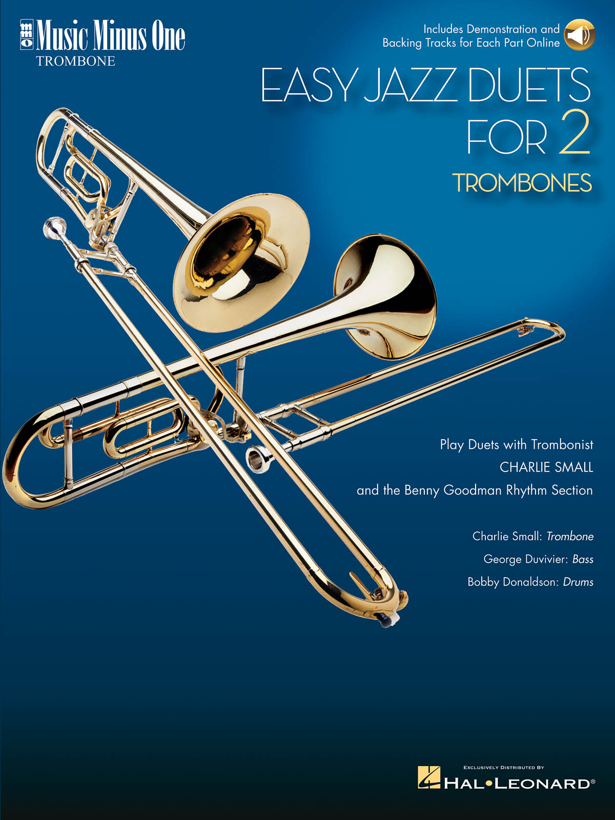 Easy Jazz Duets for 2 Trombones and Rhythm Section: Chamber Ensemble