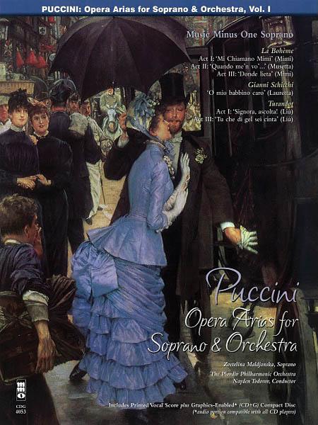 Giacomo Puccini: Arias for Soprano and Orchestra - Vol. I: Soprano: Vocal Album