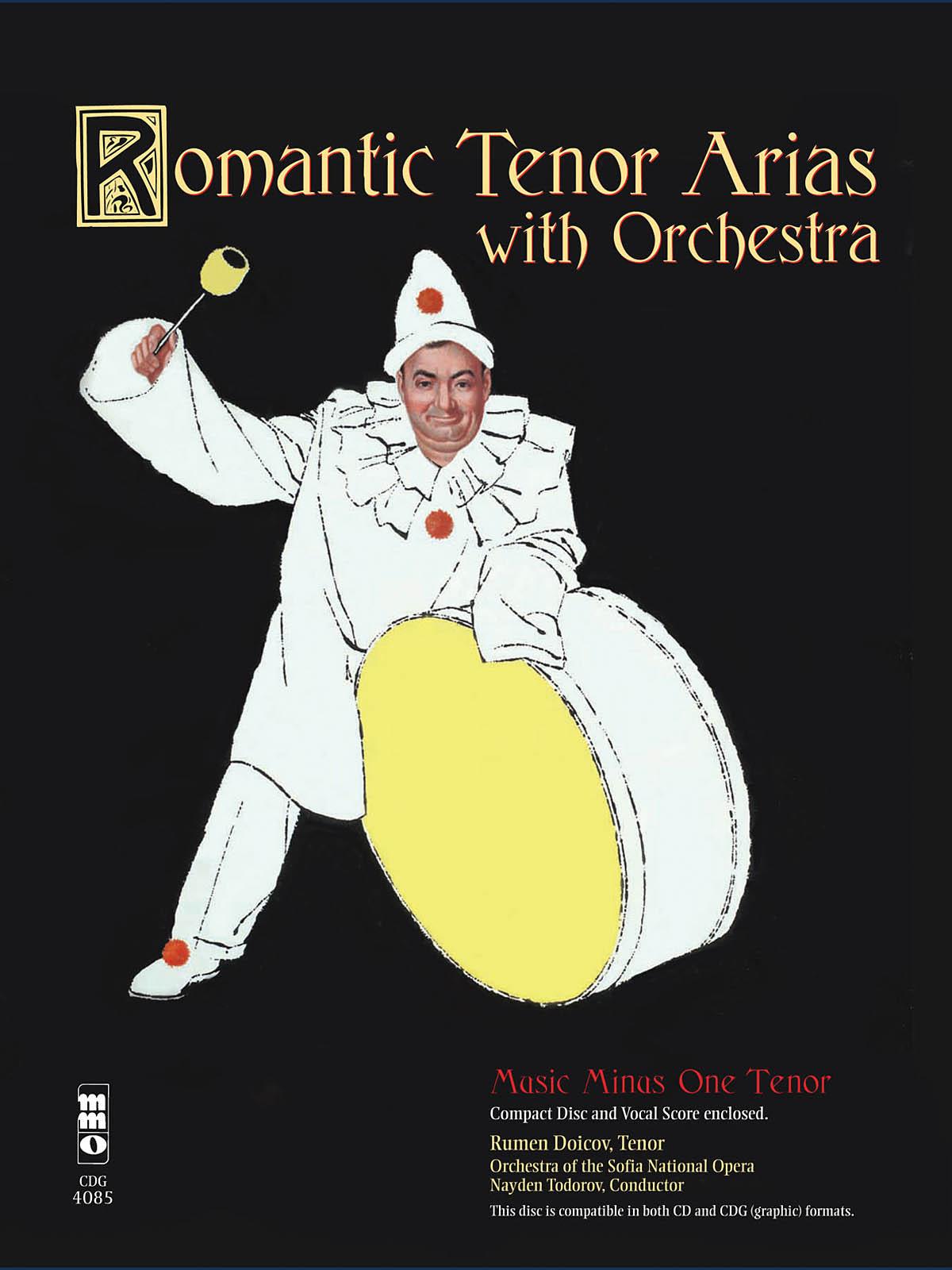 Romantic Arias for Tenor & Orchestra: Vocal Solo: Vocal Album
