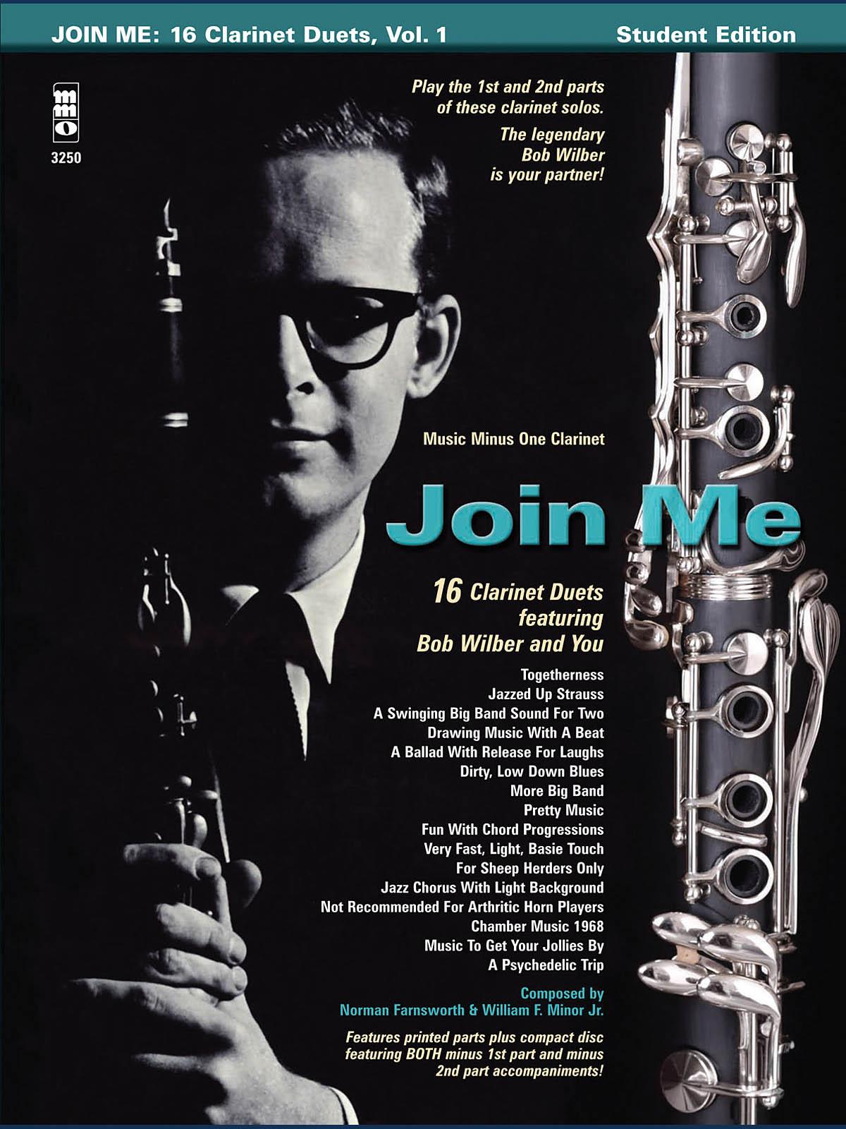Bob Wilbur: Join Me: 16 Clarinet Duets: Clarinet Duet: Instrumental Album