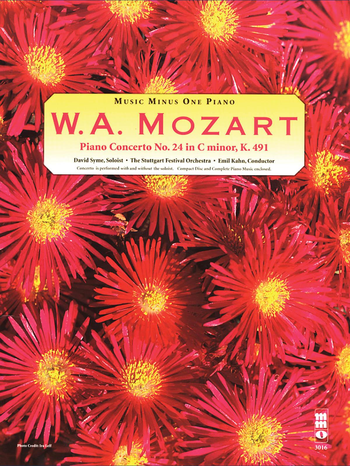 Wolfgang Amadeus Mozart: Mozart Concerto No. 24 in C Minor  KV491: Piano: