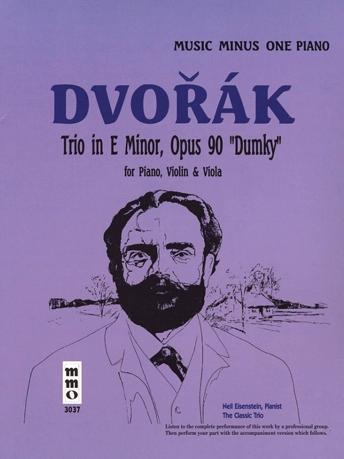 Antonín Dvo?ák: Dvorak - Piano Trio in A Major  Op. 90 Dumky: Piano: