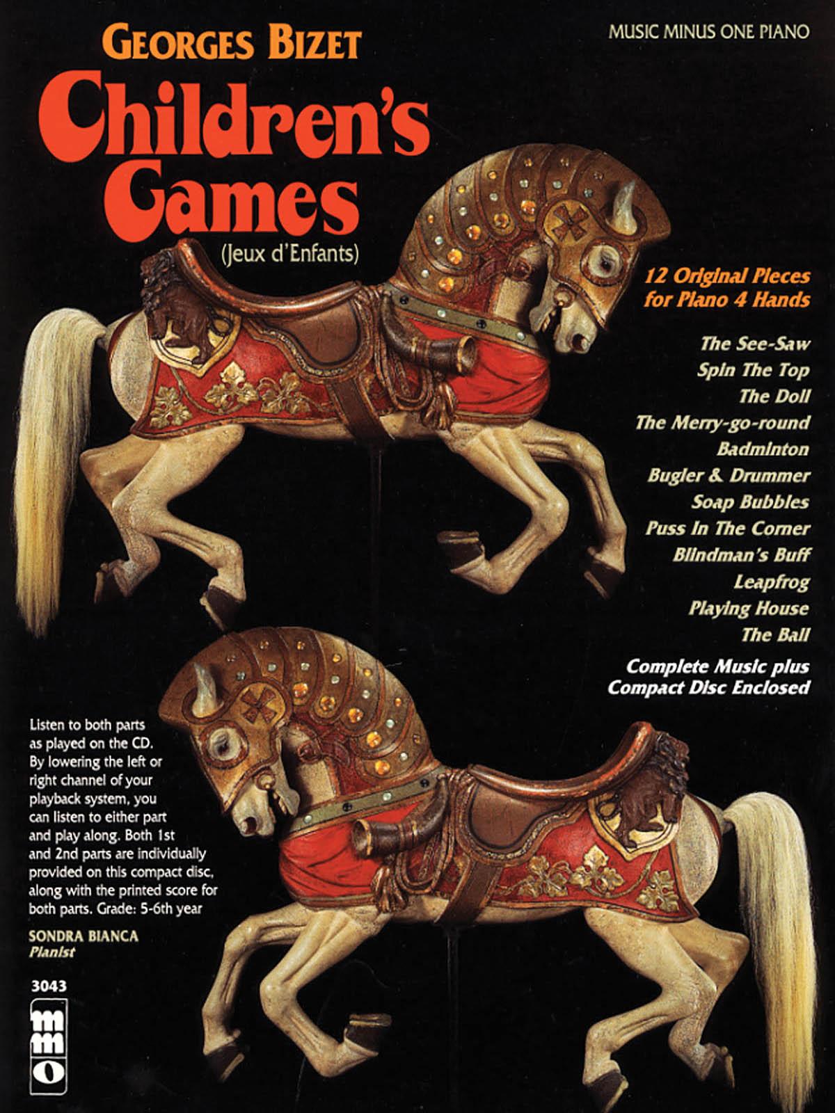 Georges Bizet: Children's Games (Jeux d'Enfants): Piano 4 Hands: Instrumental