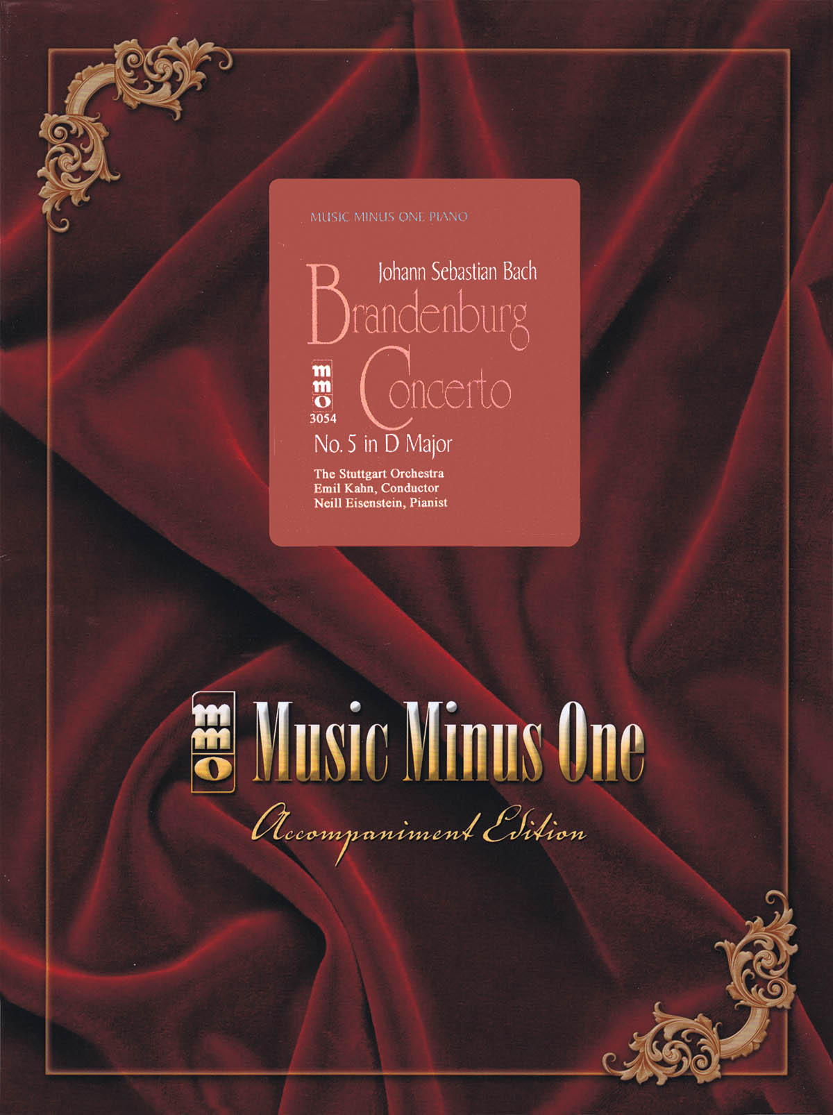 Johann Sebastian Bach: Brandenburg Concerto No. 5 in D Major  BWV1050: Piano: