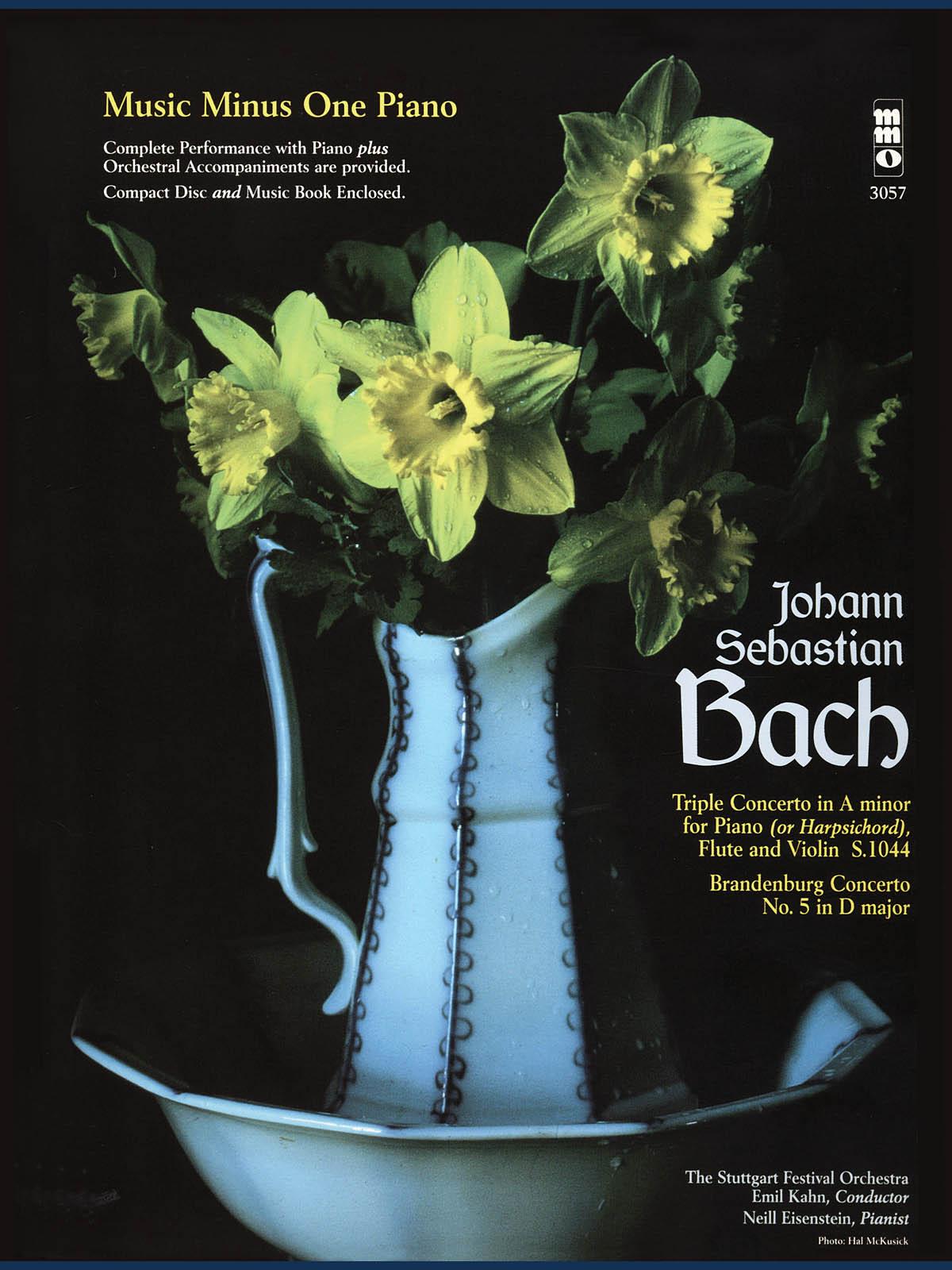Johann Sebastian Bach: Triple Concerto in A minor  BWV1044: Piano: Instrumental