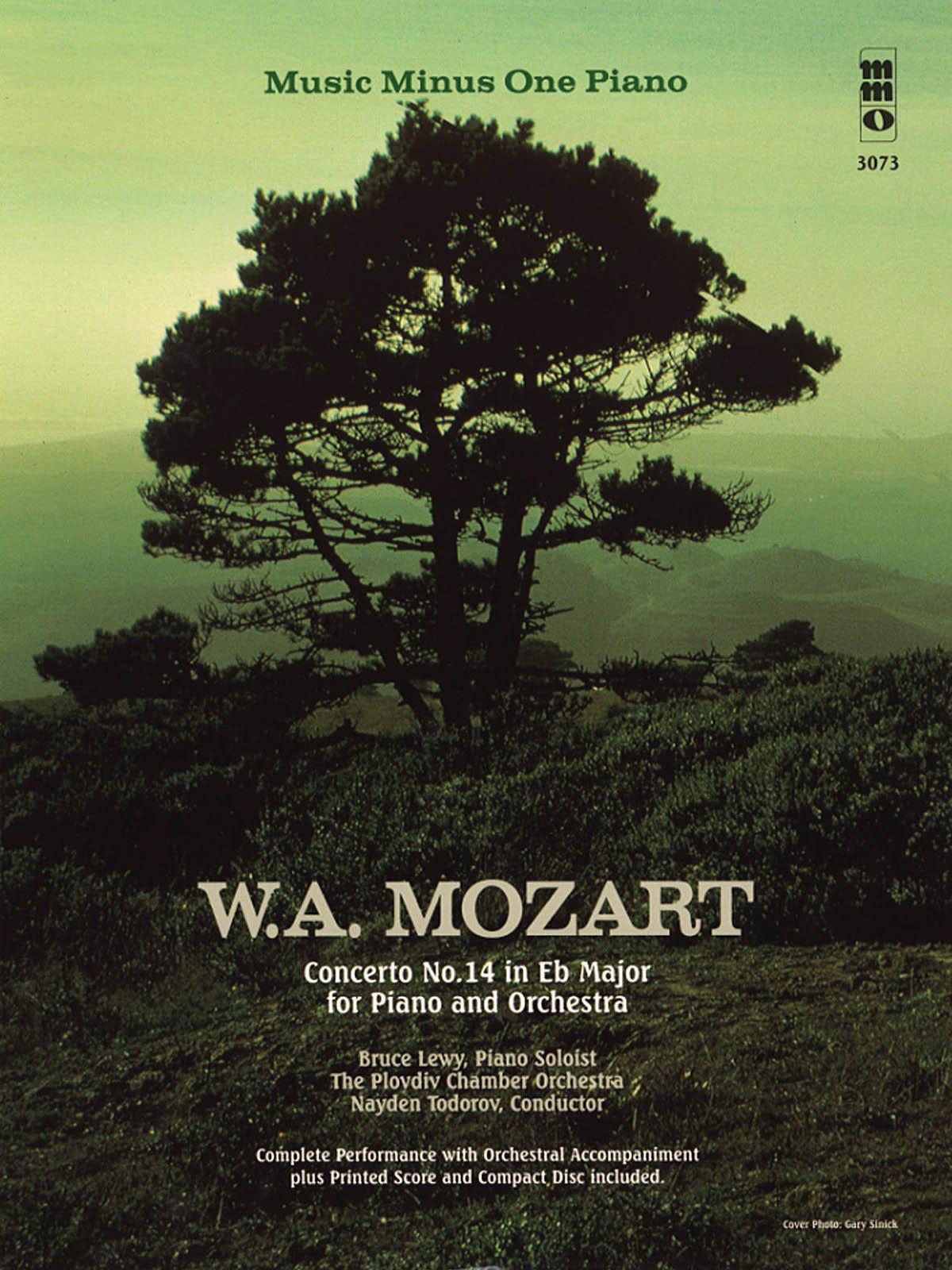 Wolfgang Amadeus Mozart: Mozart - Concerto No. 14 in E-flat Major: Piano: