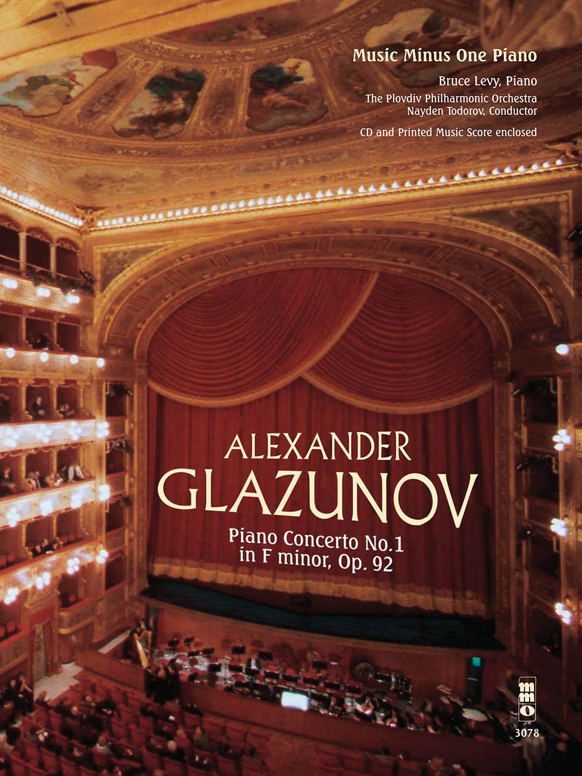 Alexander Glazunov: Glazunov - Concerto No. 1 in F Minor  Op. 92: Piano: