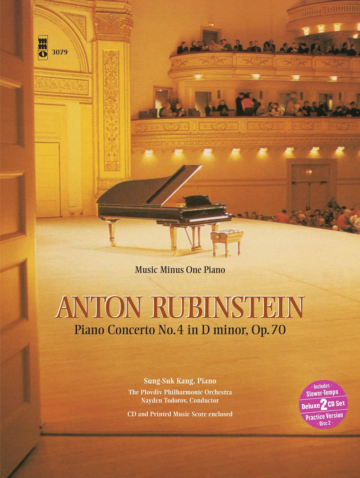 Rubinstein: Piano Concerto No. 4 in D Minor  Op. 70: Piano: Instrumental Album