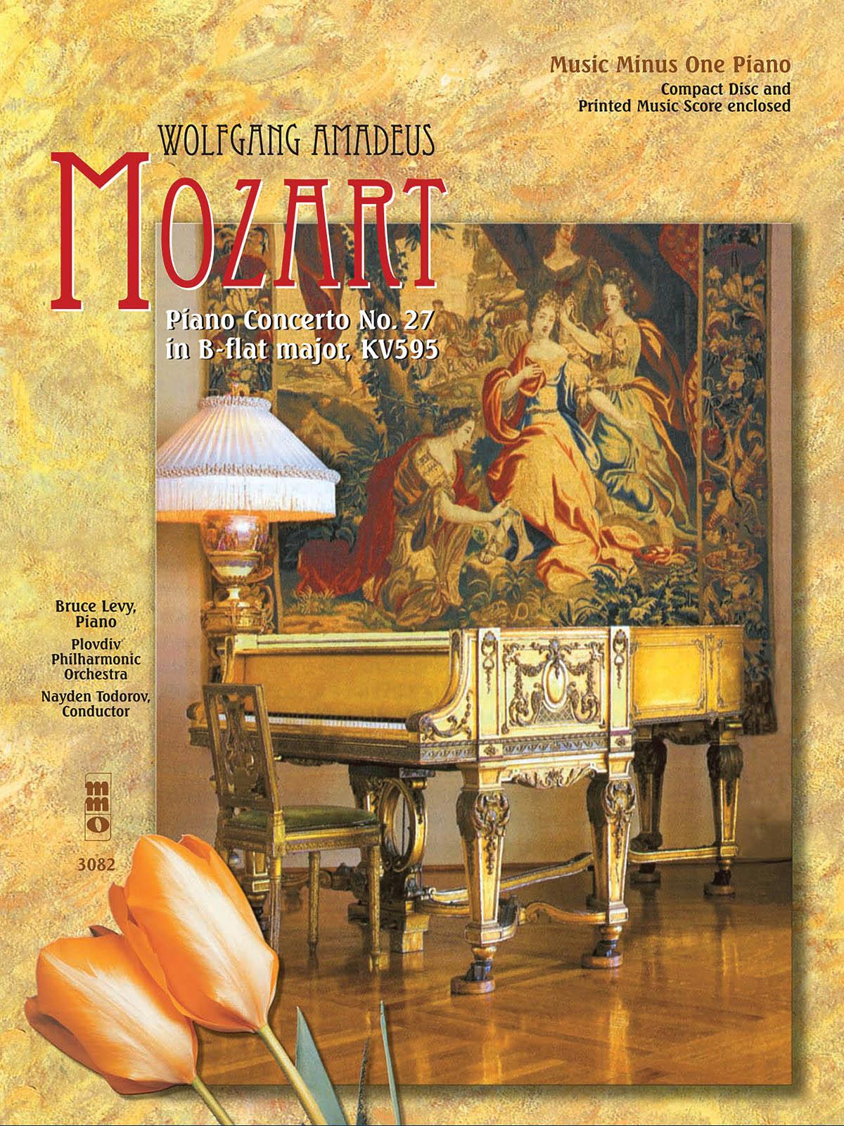 Wolfgang Amadeus Mozart: Piano Concerto No. 27 in B-flat Major  KV595: Piano