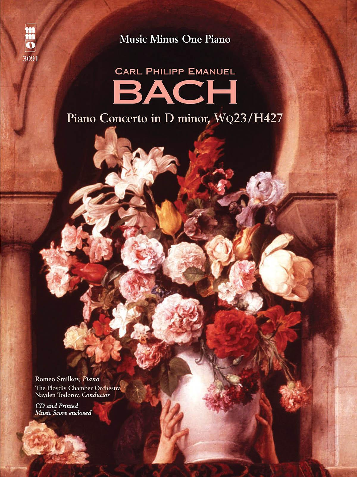 Carl Philipp Emanuel Bach: C.P.E. Bach - Concerto in D minor  Wq23  H427: Piano: