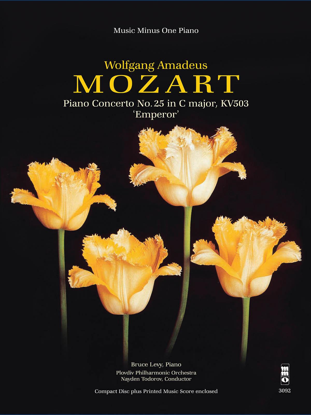 Wolfgang Amadeus Mozart: Piano Concerto No. 25 in C Major: Piano: Instrumental