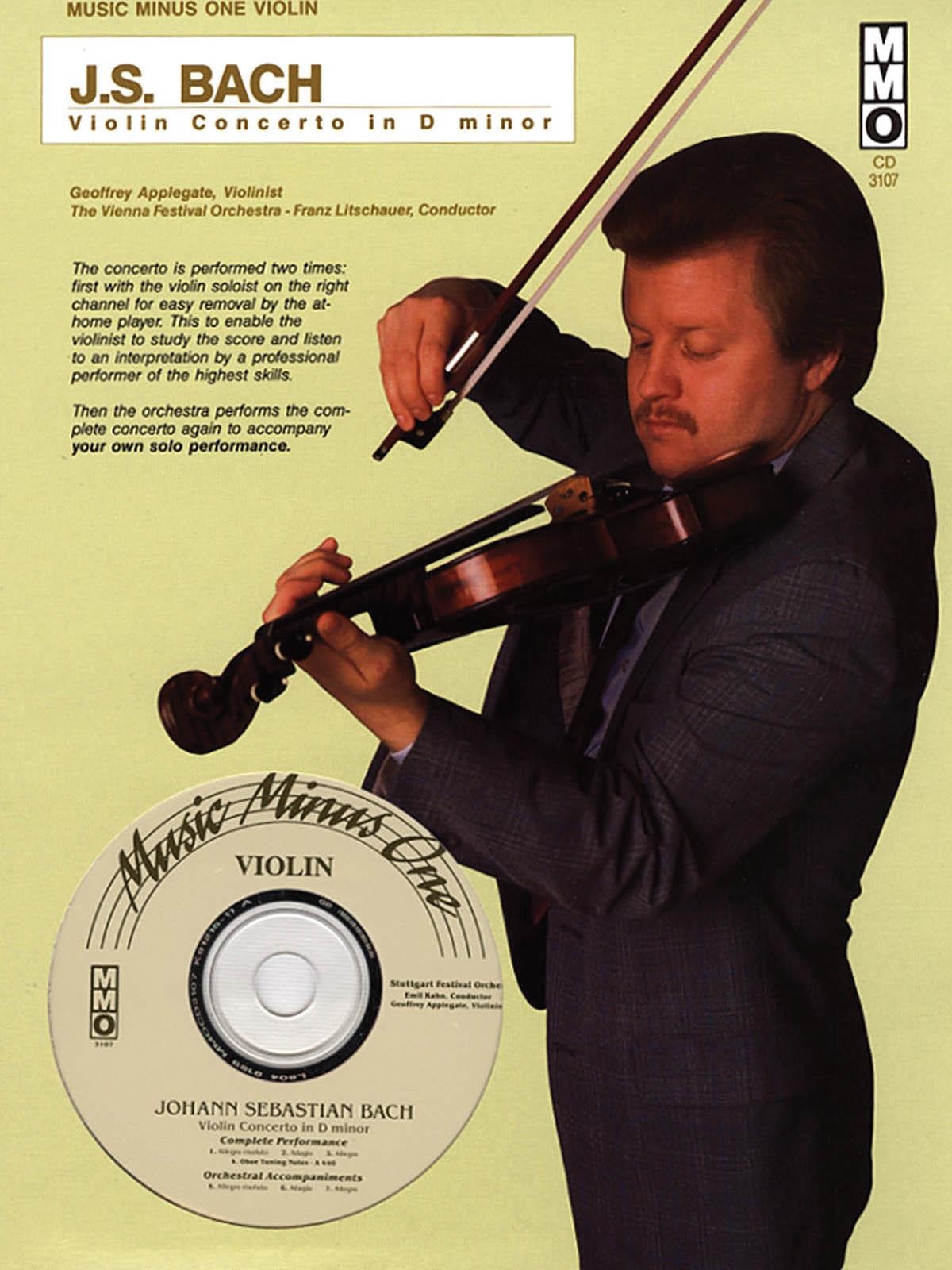 Johann Sebastian Bach: Violin Concerto in D Minor: Violin: Instrumental Album