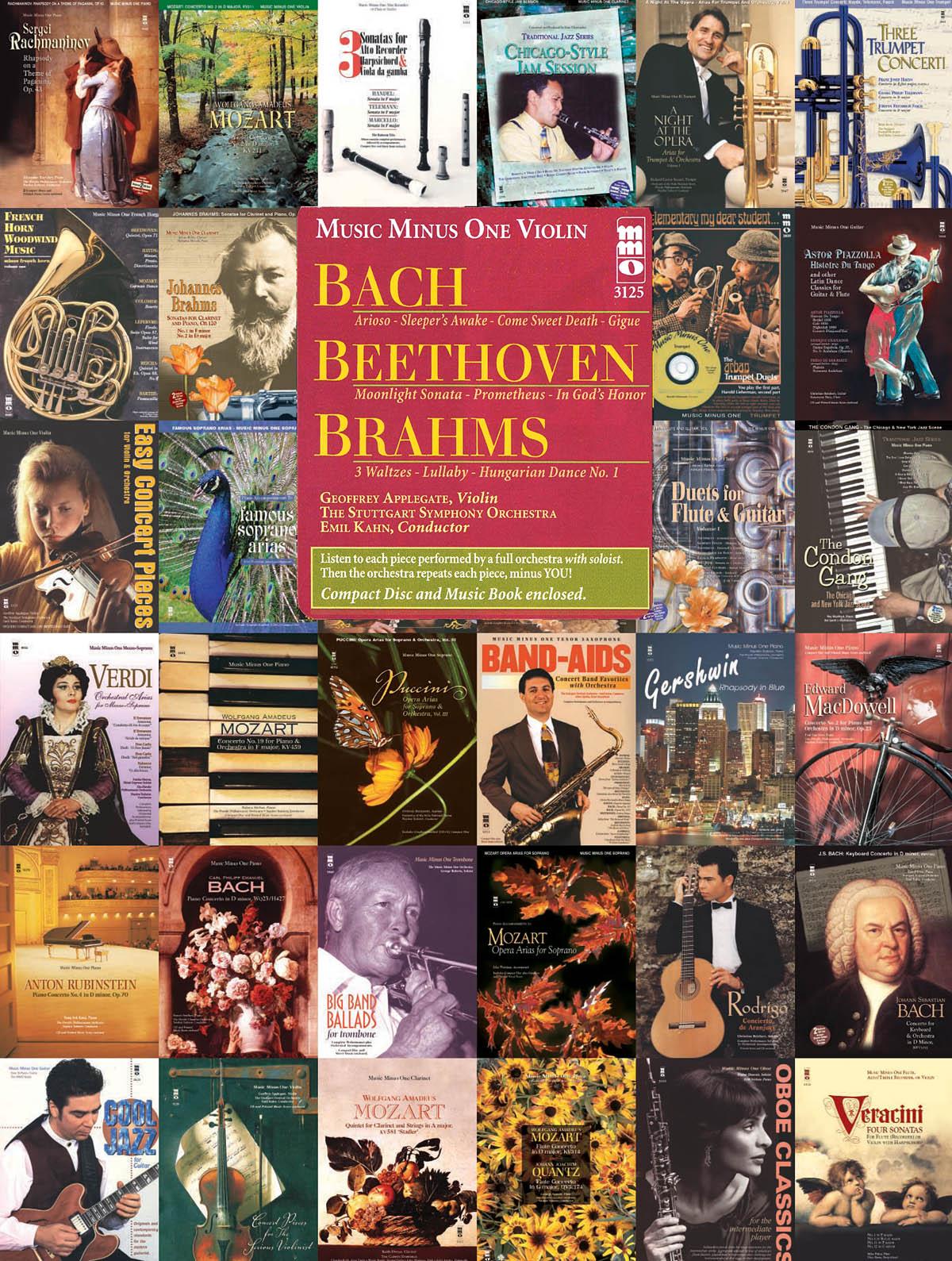 Bach Ludwig van Beethoven Johannes Brahms: Bach  Beethoven & Brahms: Violin