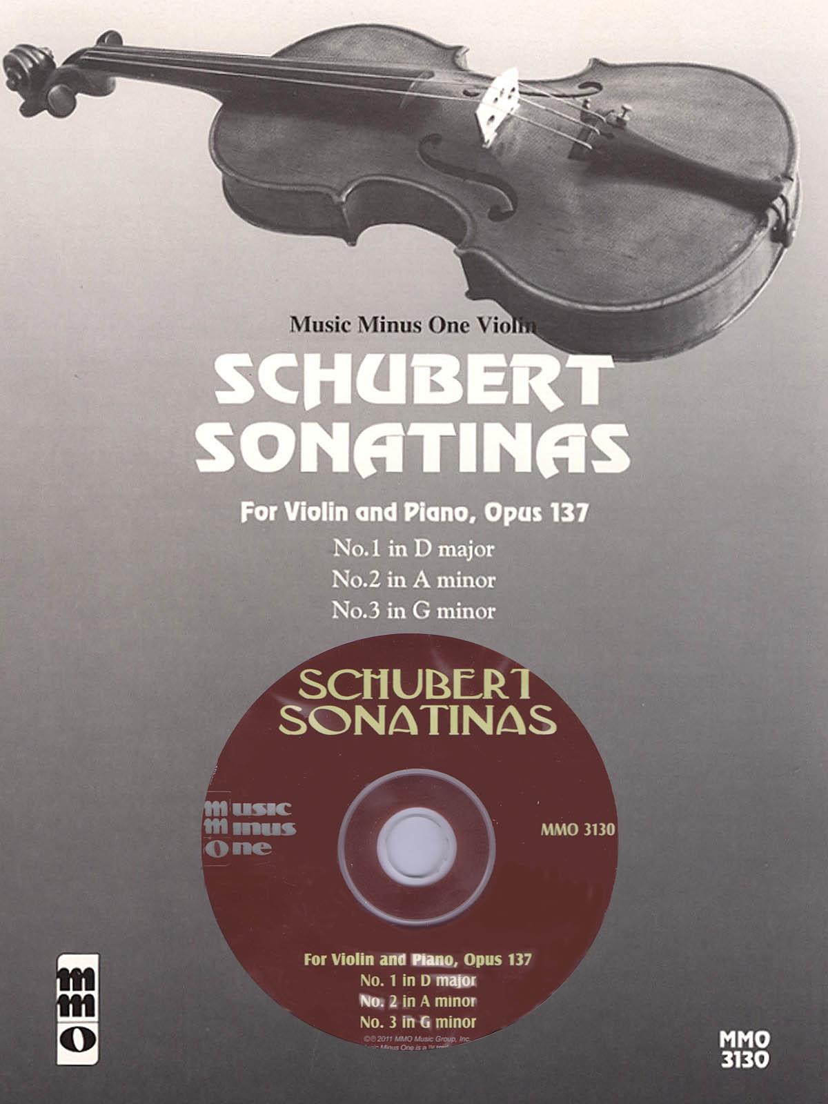 Franz Schubert: Schubert - Sonatinas: Violin Solo: Instrumental Album