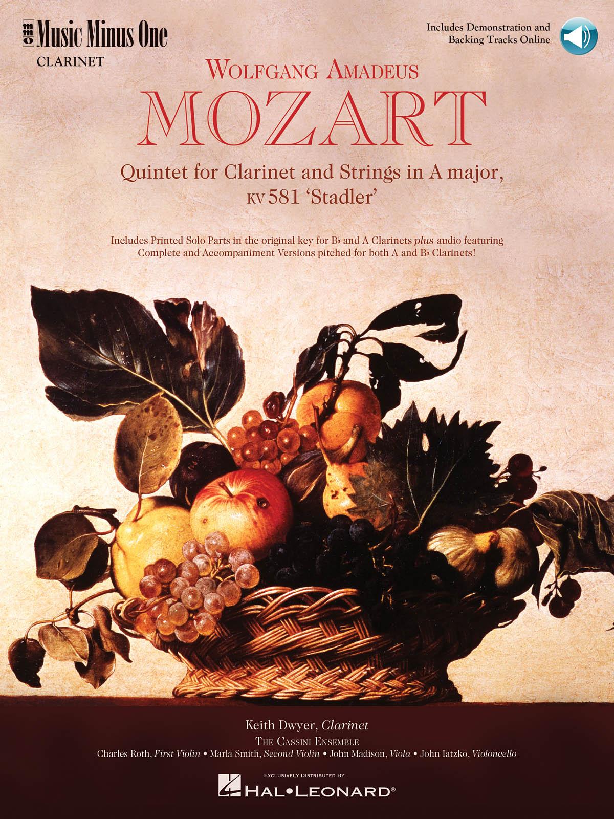 Wolfgang Amadeus Mozart: Mozart Quintet in A  KV581: Clarinet Ensemble