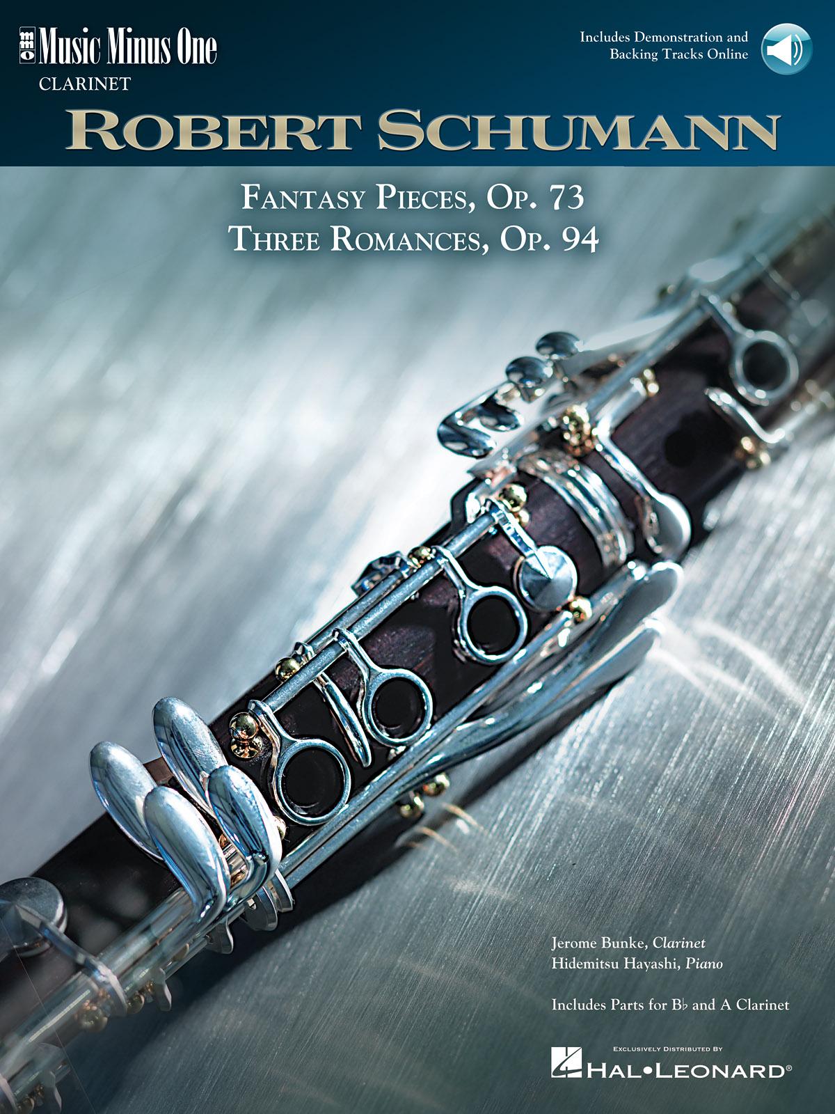 Schumann: 5 Fantasy Pieces  Op. 73 and 3 Romances  Op. 94: Clarinet Solo