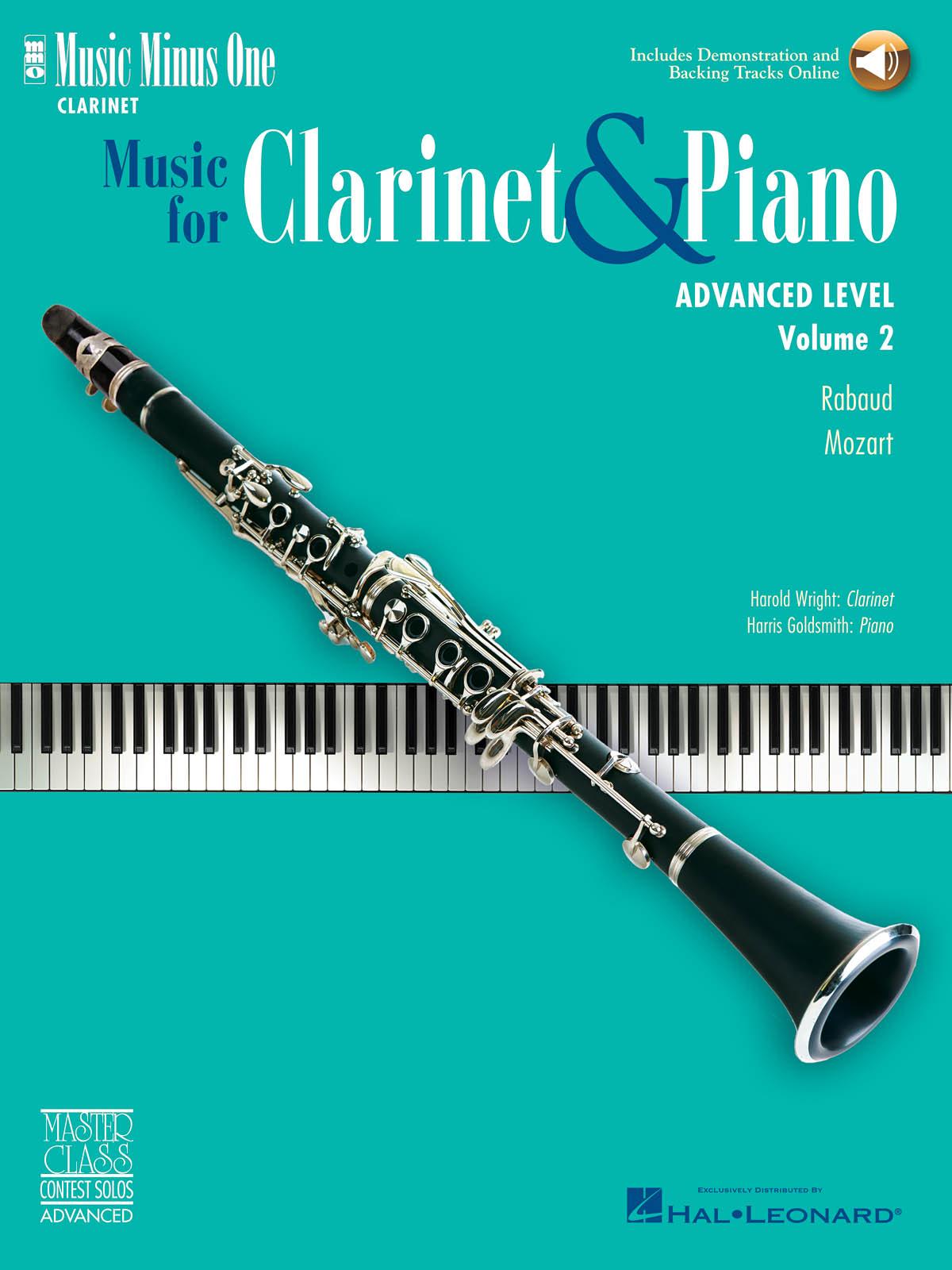 Harold Wright: Advanced Clarinet Solos - Volume II: Clarinet Solo: Instrumental