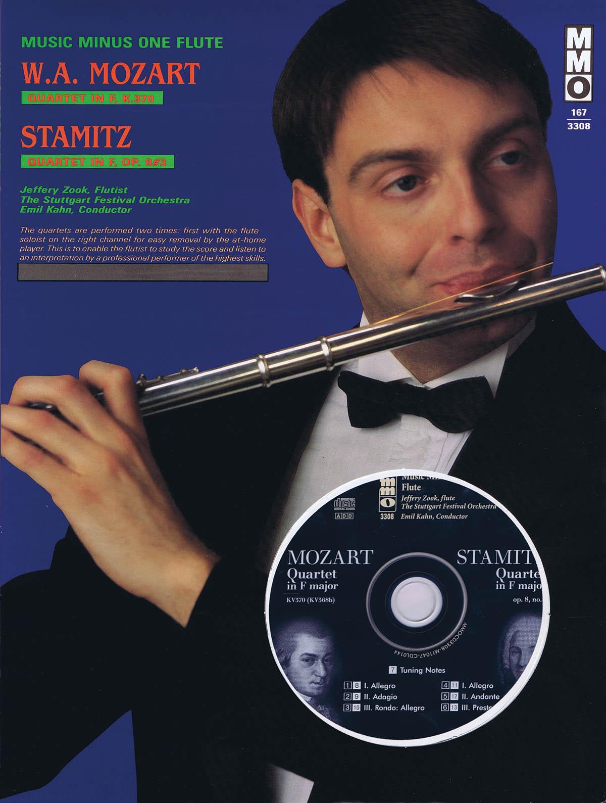 Wolfgang Amadeus Mozart Stamitz: Quartet in F Major  Kv370: Flute Solo: