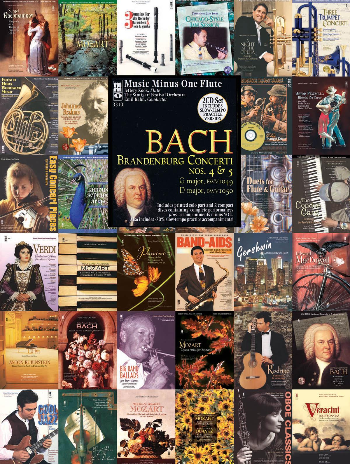 Johann Sebastian Bach: Brandenburg Concerti Nos. 4 and 5: Flute