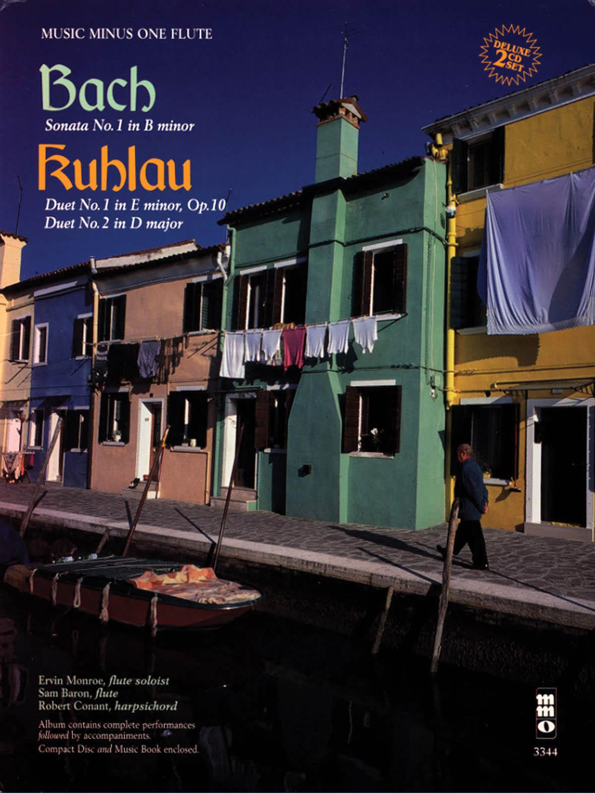 Bach Kuhlau: Sonata No. 1 in B minor - Two Duets: Flute Solo: Instrumental Album