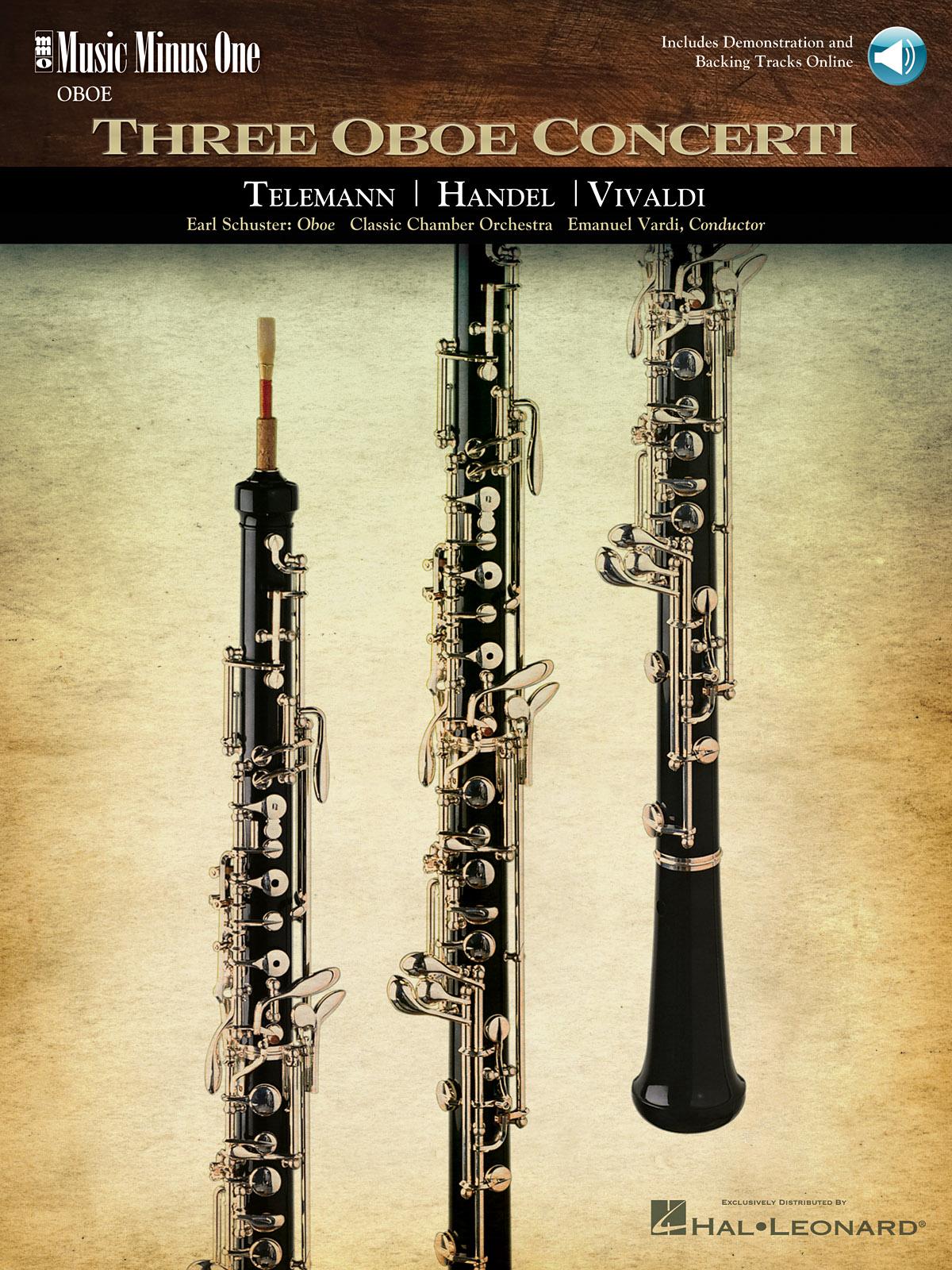 Georg Philipp Telemann Georg Friedrich Händel Antonio Vivaldi: Three Oboe