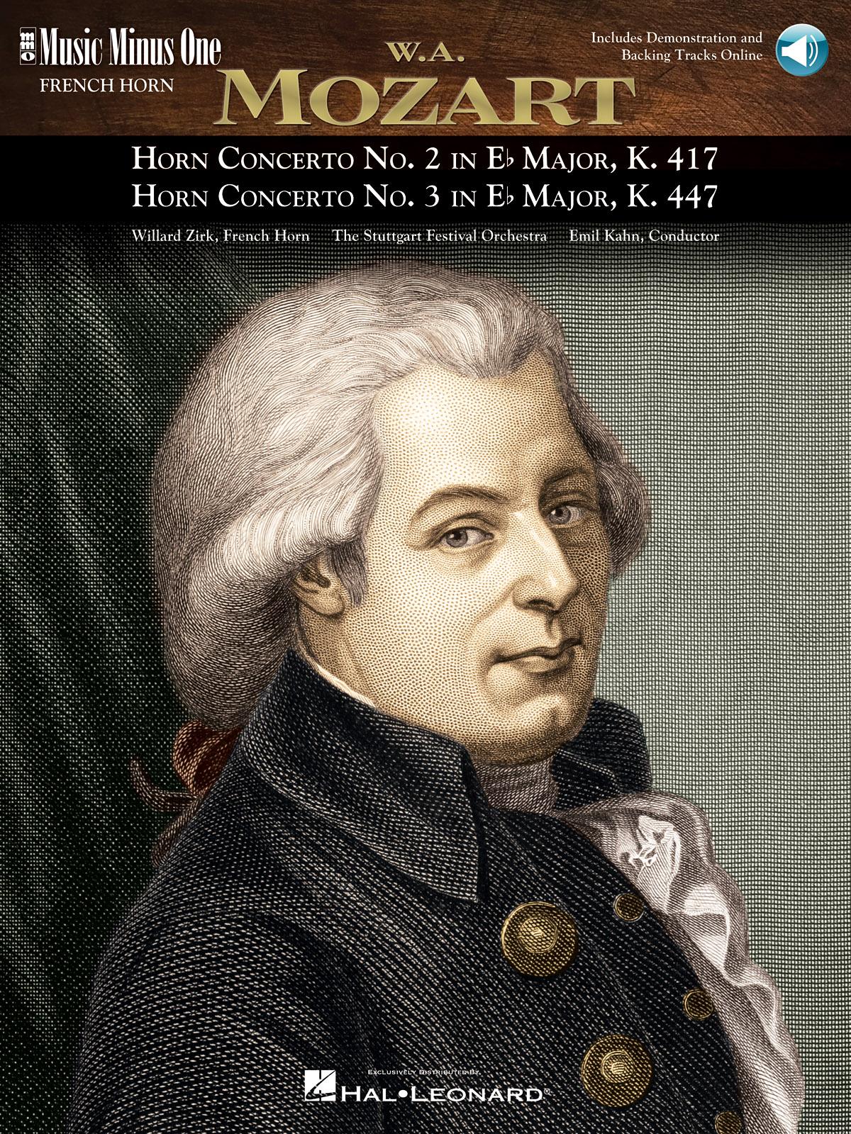 Wolfgang Amadeus Mozart: Horn Concerto No. 2 & Horn Concerto No. 3: French Horn