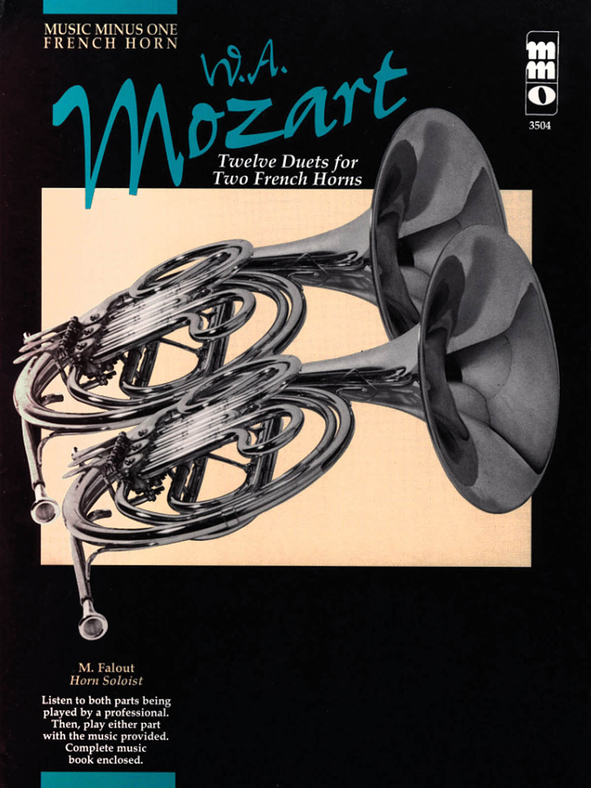 Wolfgang Amadeus Mozart: Twelve Duets for Two French Horns: French Horn Duet: