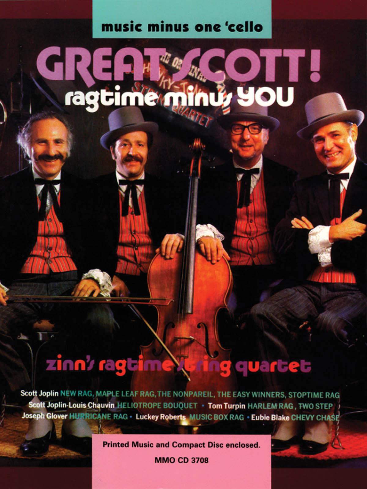 Great Scott! Ragtime Minus You: Cello Solo: Instrumental Album