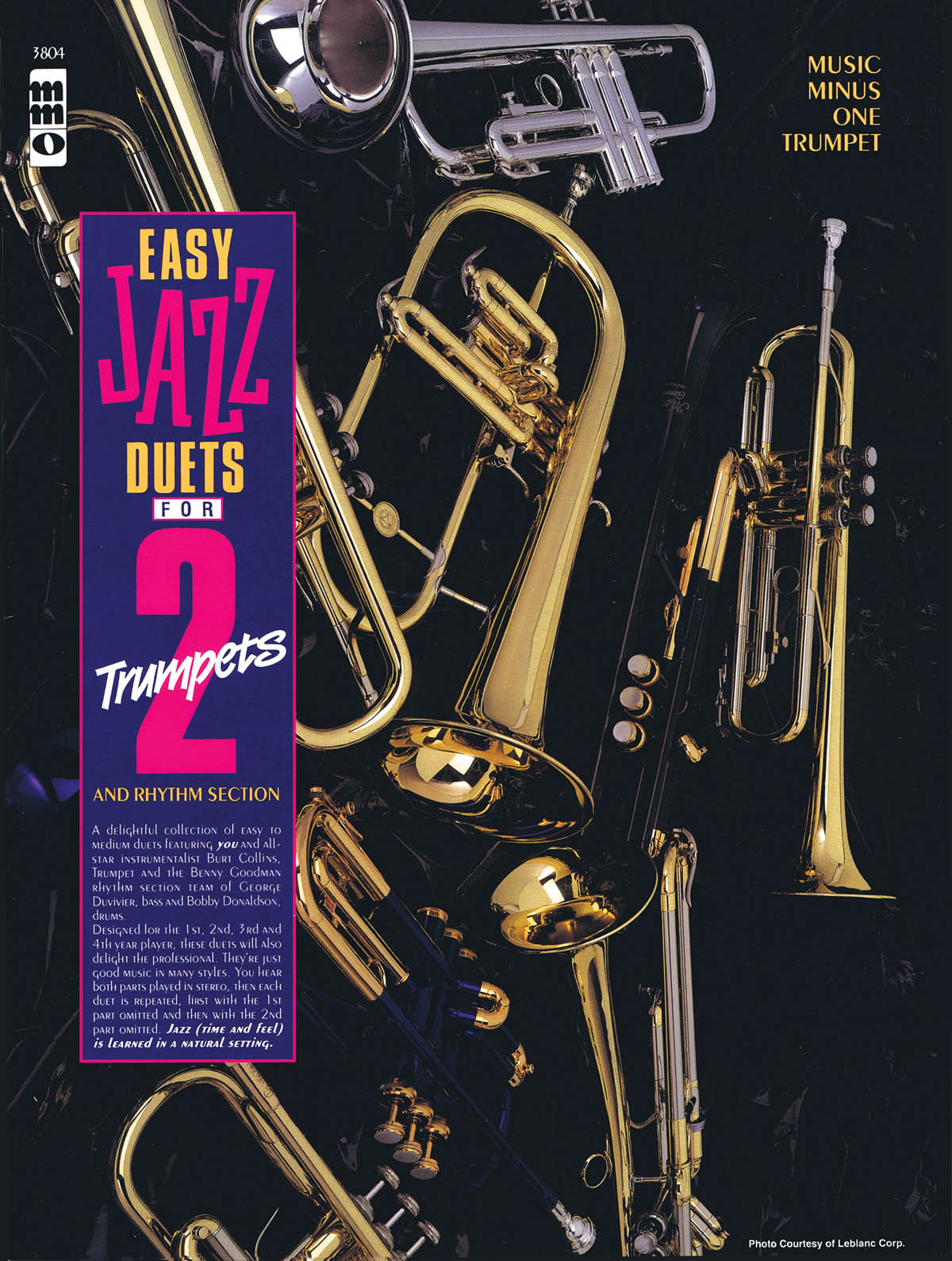 Easy Jazz Duets for 2 Trumpets and Rhythm Section: Chamber Ensemble