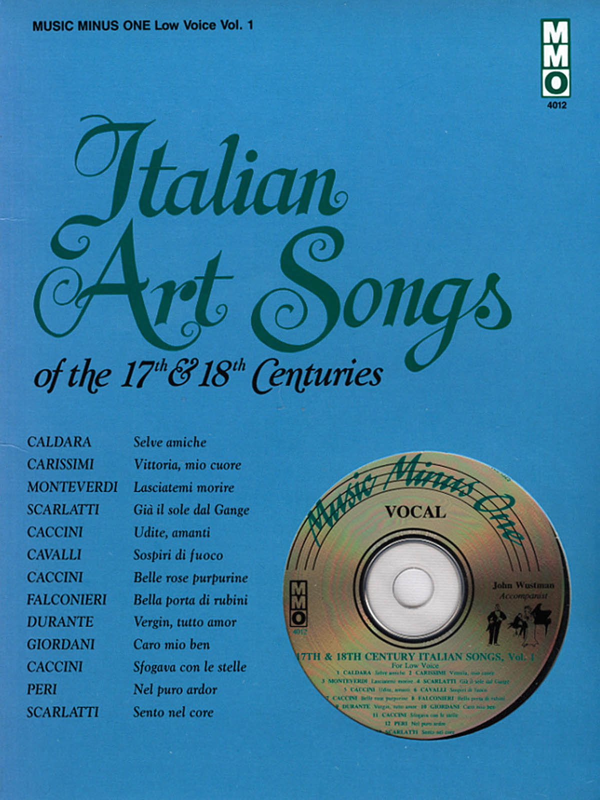 Italian Art Songs of the 17th and 18th Centuries: Vocal: Vocal Album