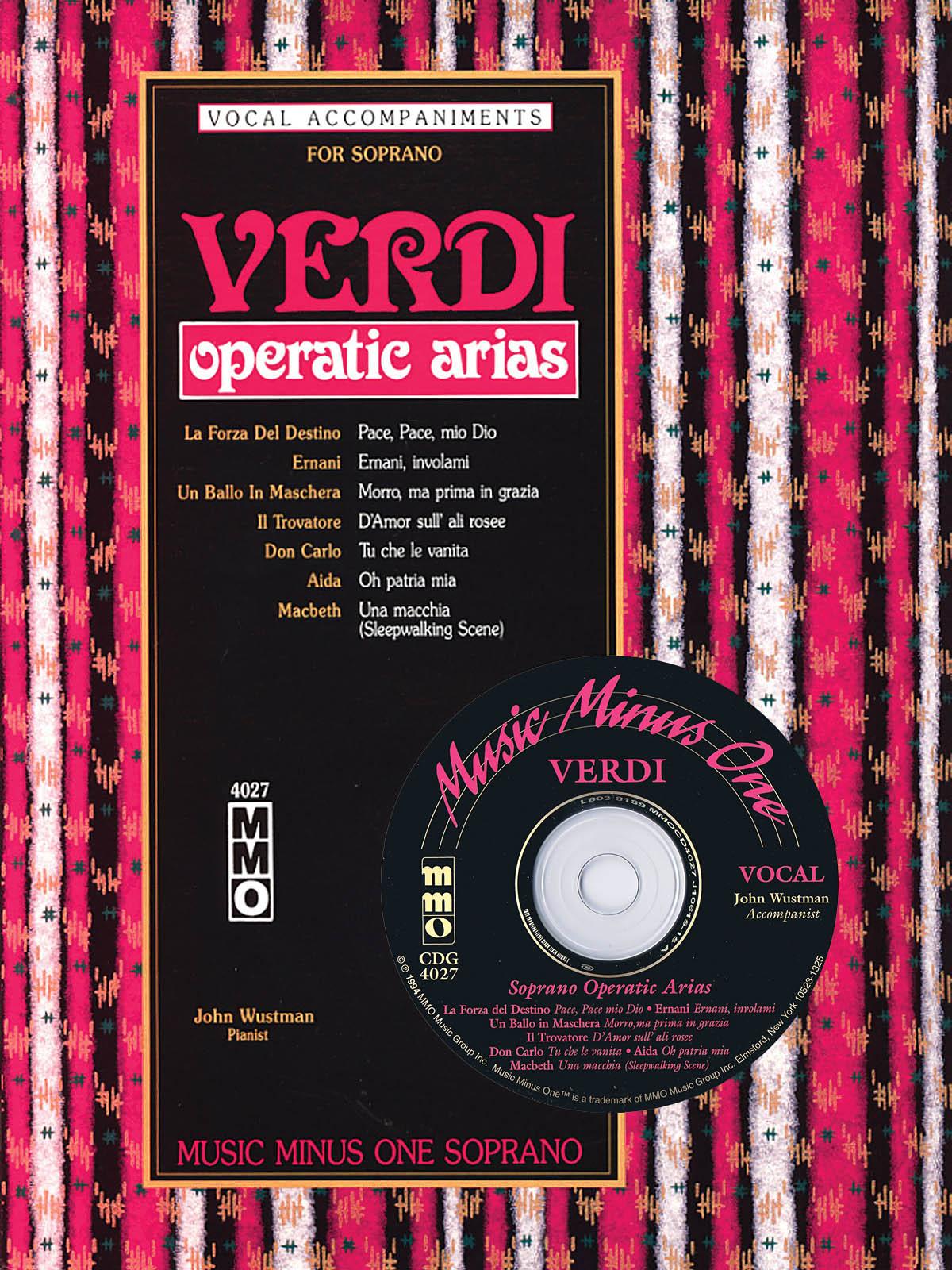 Giuseppe Verdi: Arias for Soprano: Vocal Solo: Vocal Collection