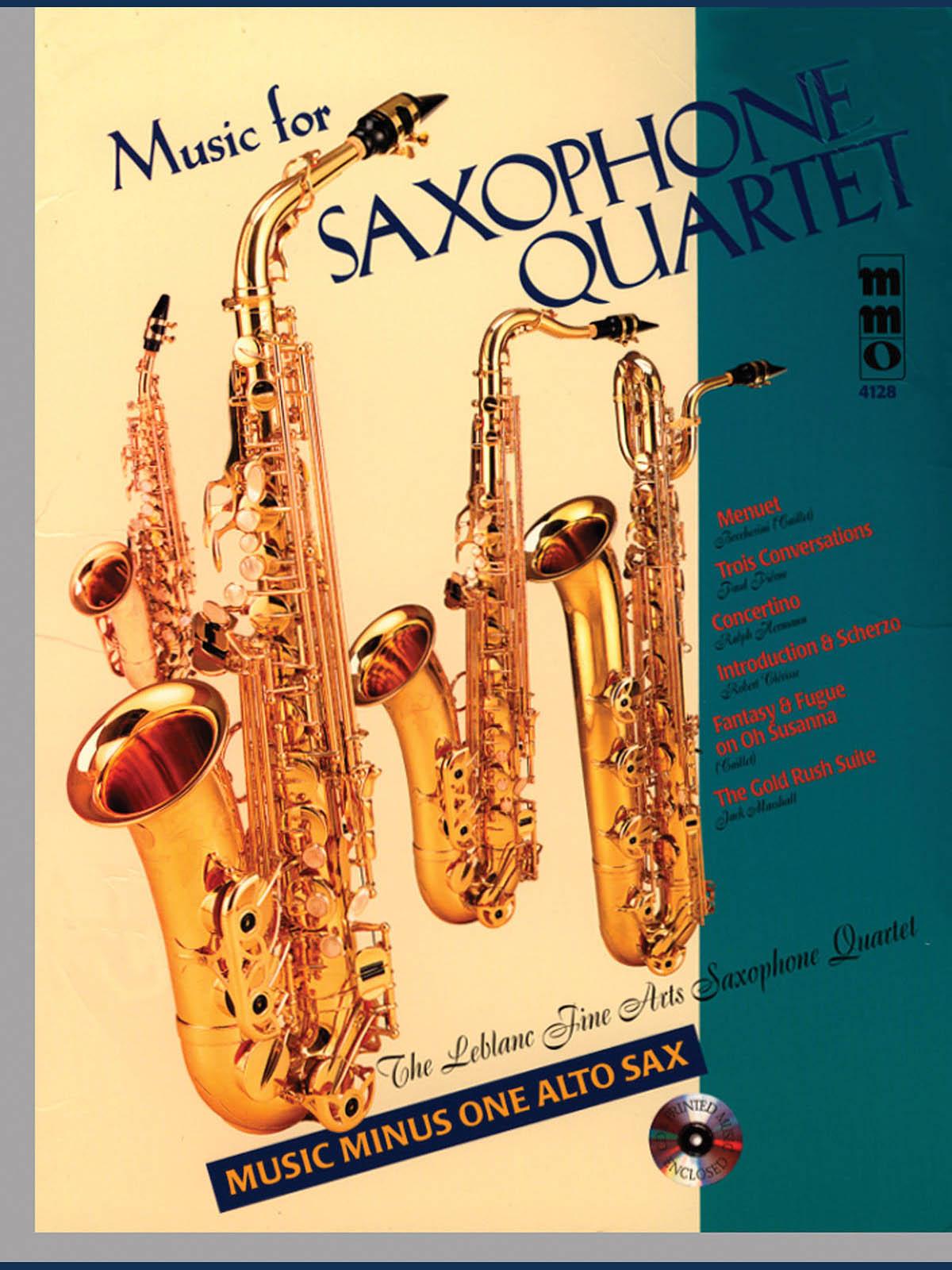 Music for Saxophone Quartet: Saxophone Ensemble: Instrumental Album