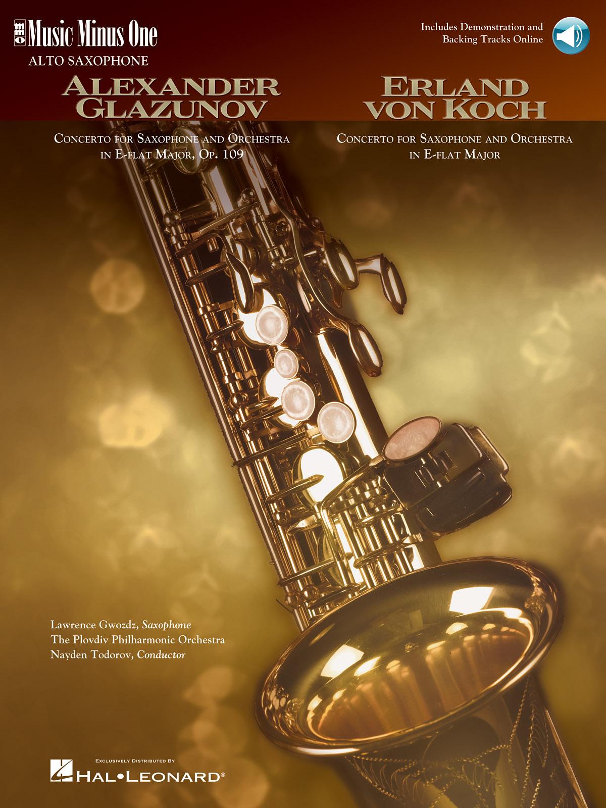Alexander Glazunov Von Koch: Concerto in E-flat Major  Op. 109: Alto Saxophone: