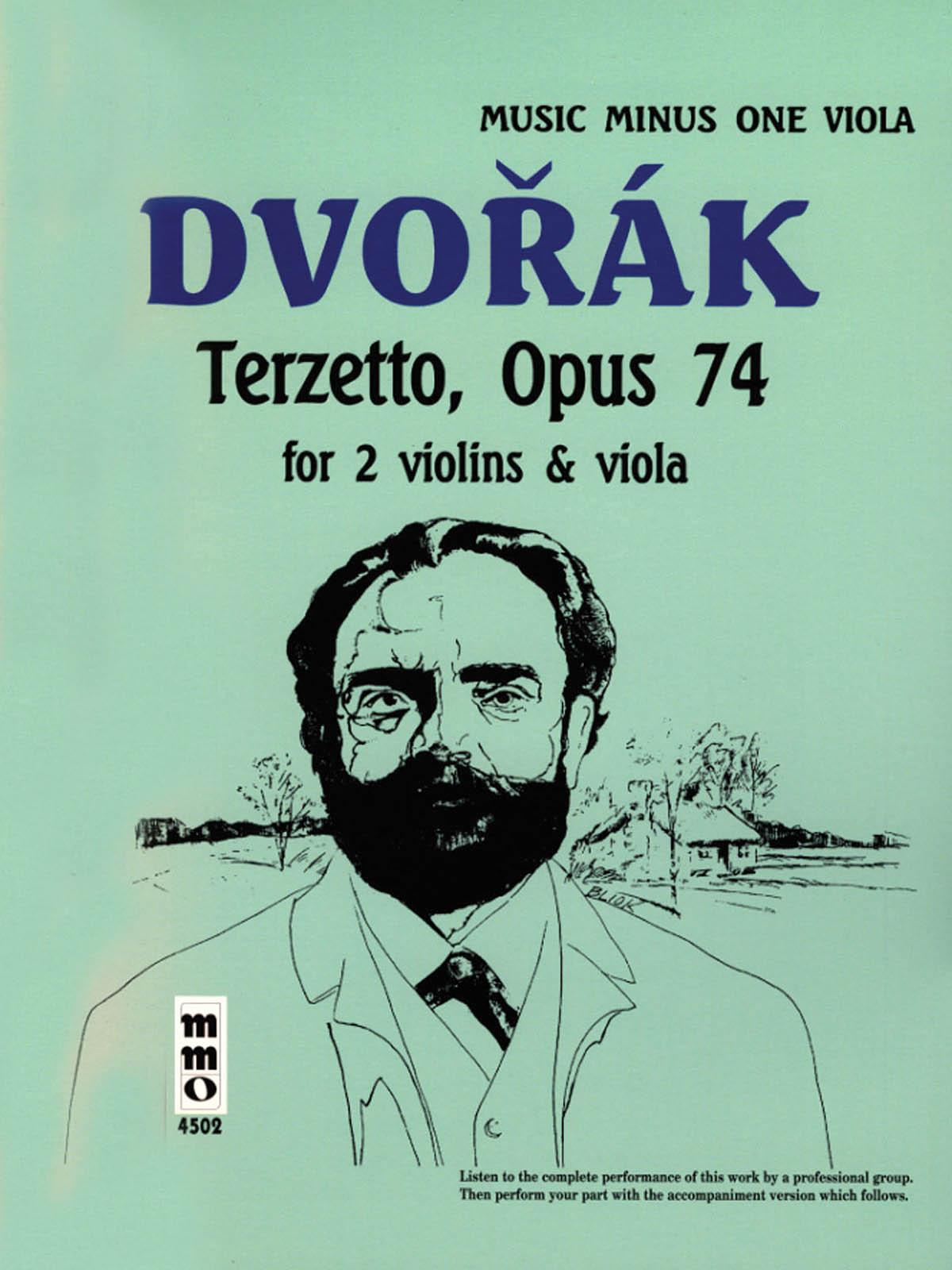 Antonin Dvorak: Terzetto in C Major  Op. 74: Viola: Instrumental Album