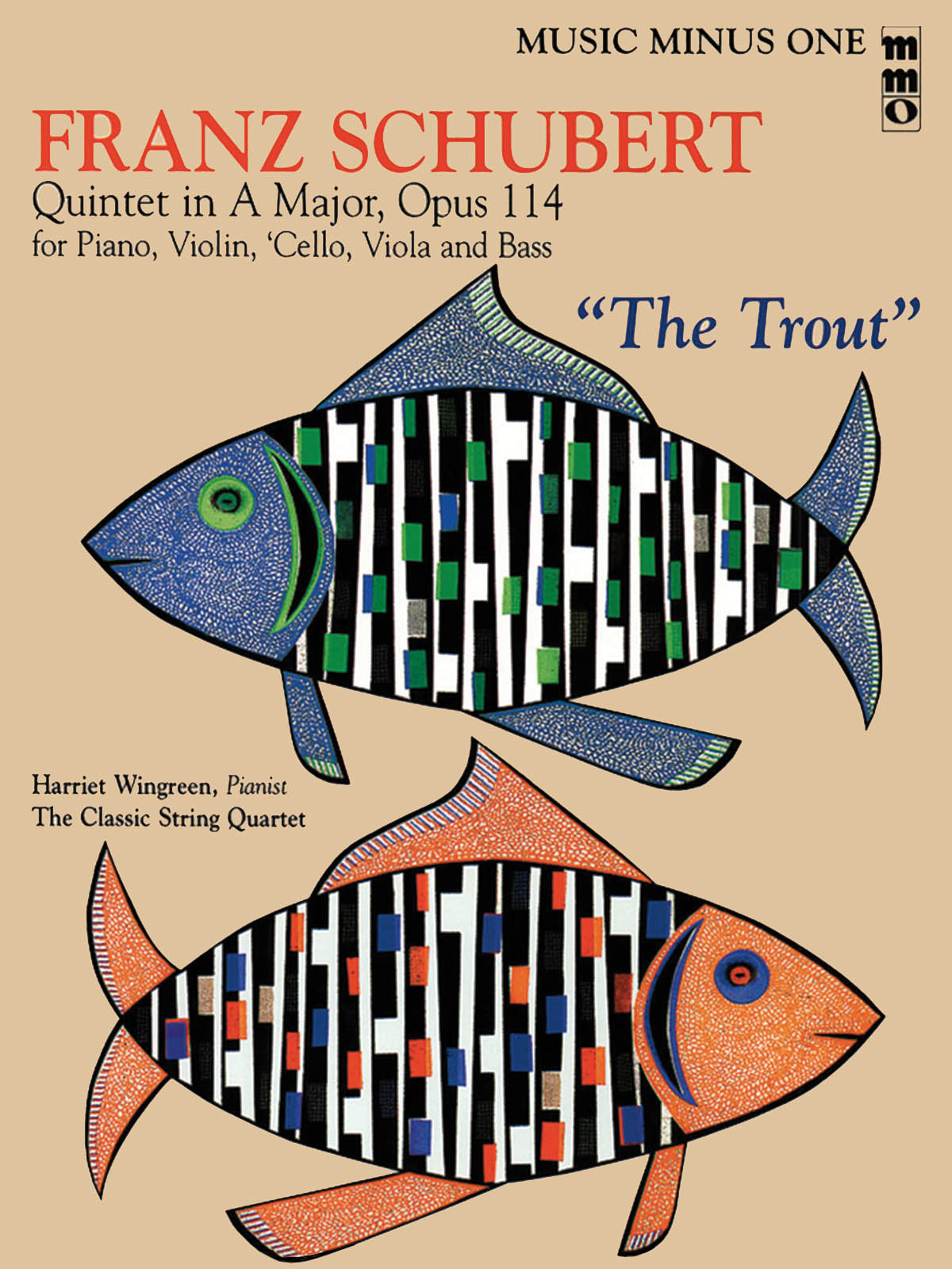 Franz Schubert: Quintet in A Major  Op. 114 or The Trout: Viola: Instrumental