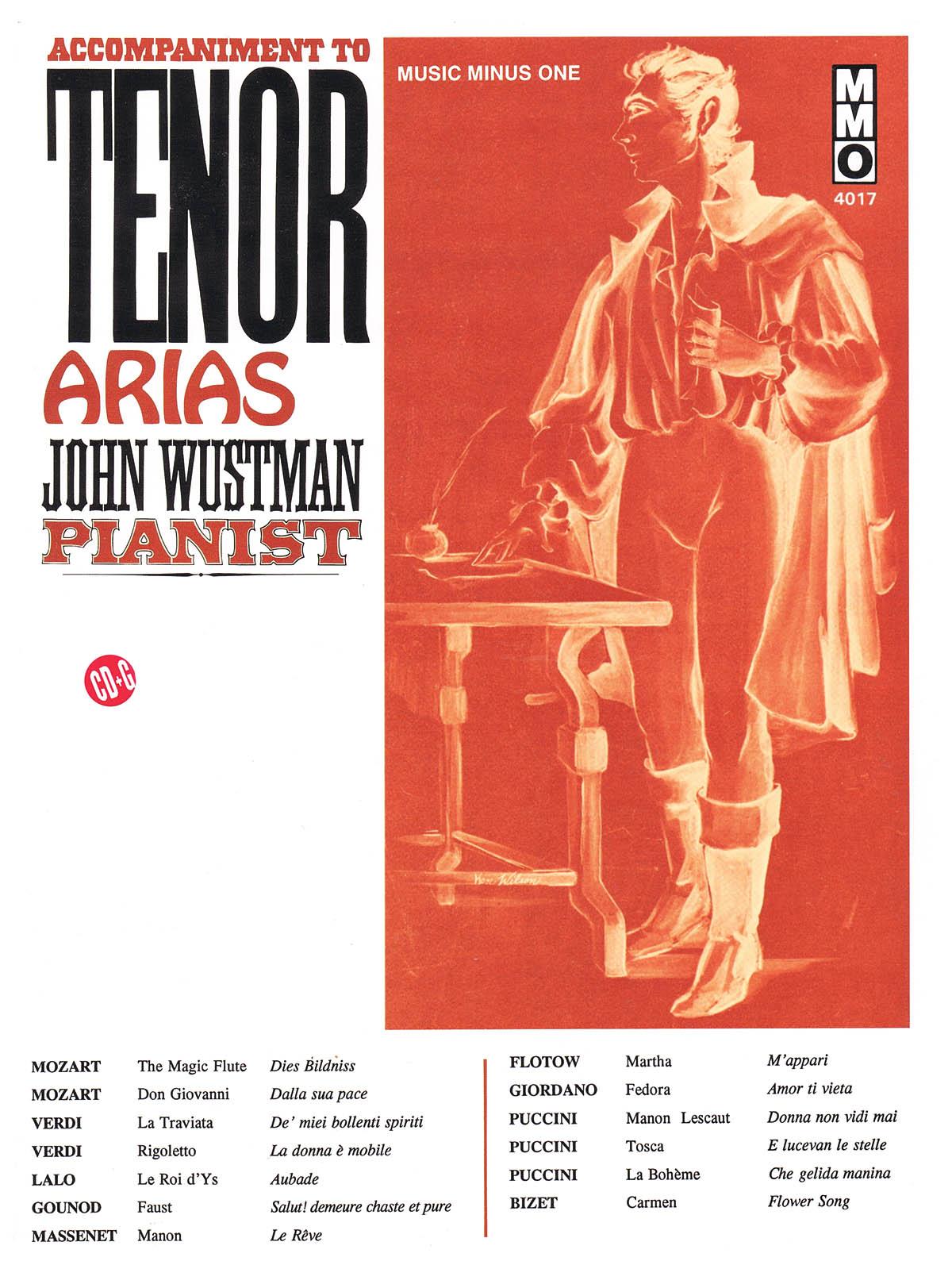 Accompaniment to Tenor Arias: Vocal Solo: Vocal Collection