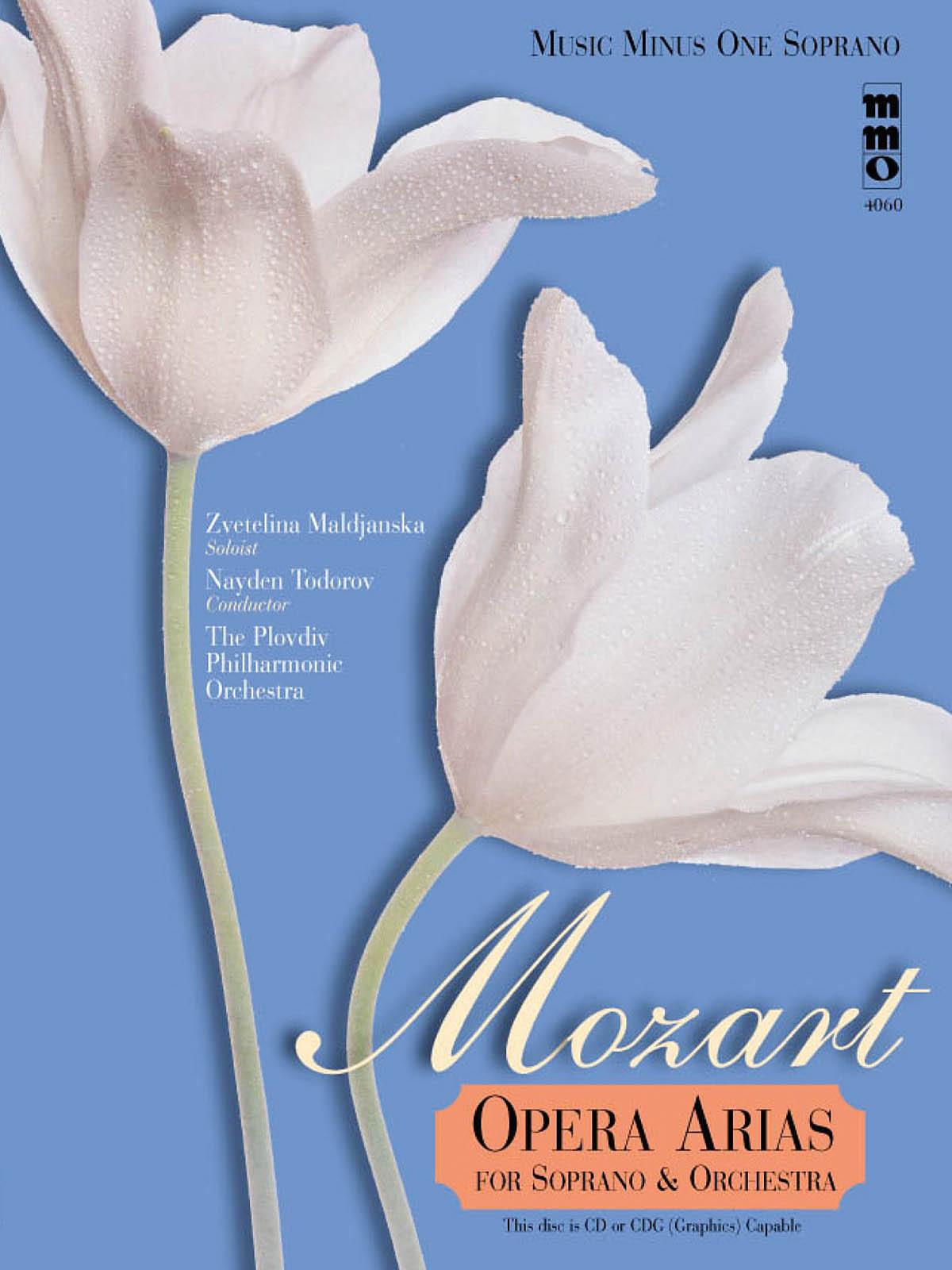 Wolfgang Amadeus Mozart: Opera Arias for Soprano & Orchestra: Vocal Solo: Vocal